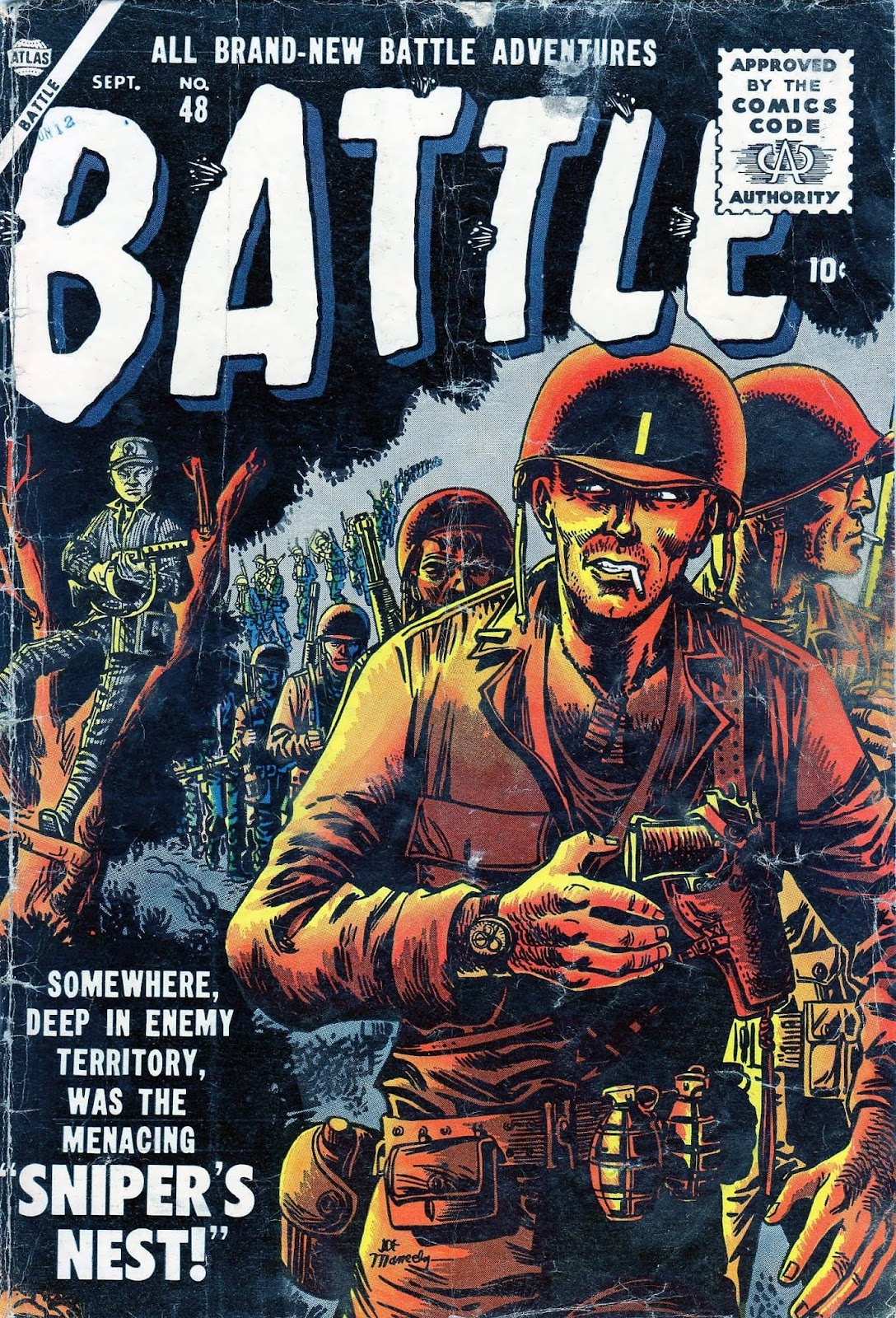 Battle issue 48 - Page 1