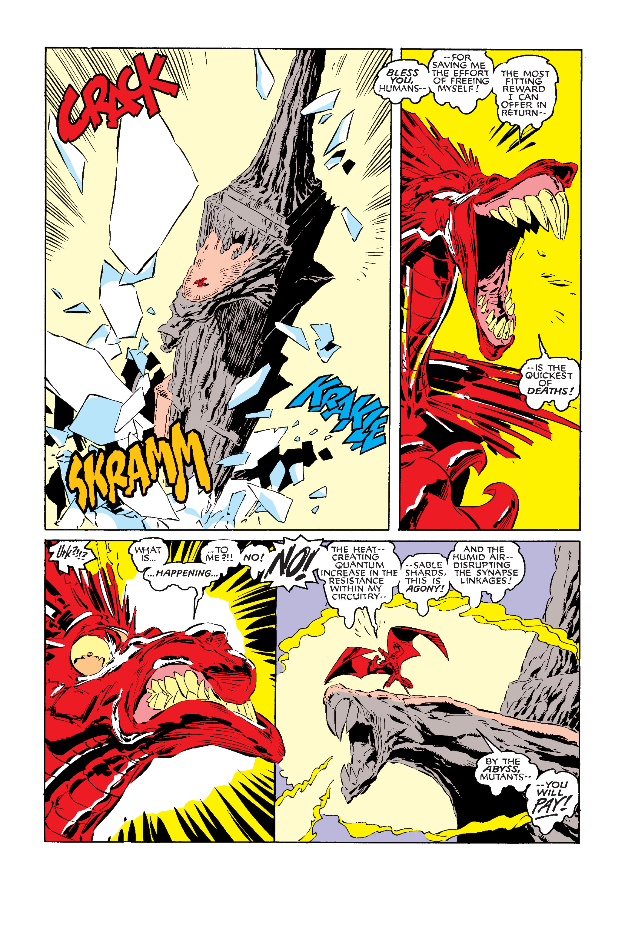 Read online Uncanny X-Men (1963) comic -  Issue #242 - 35