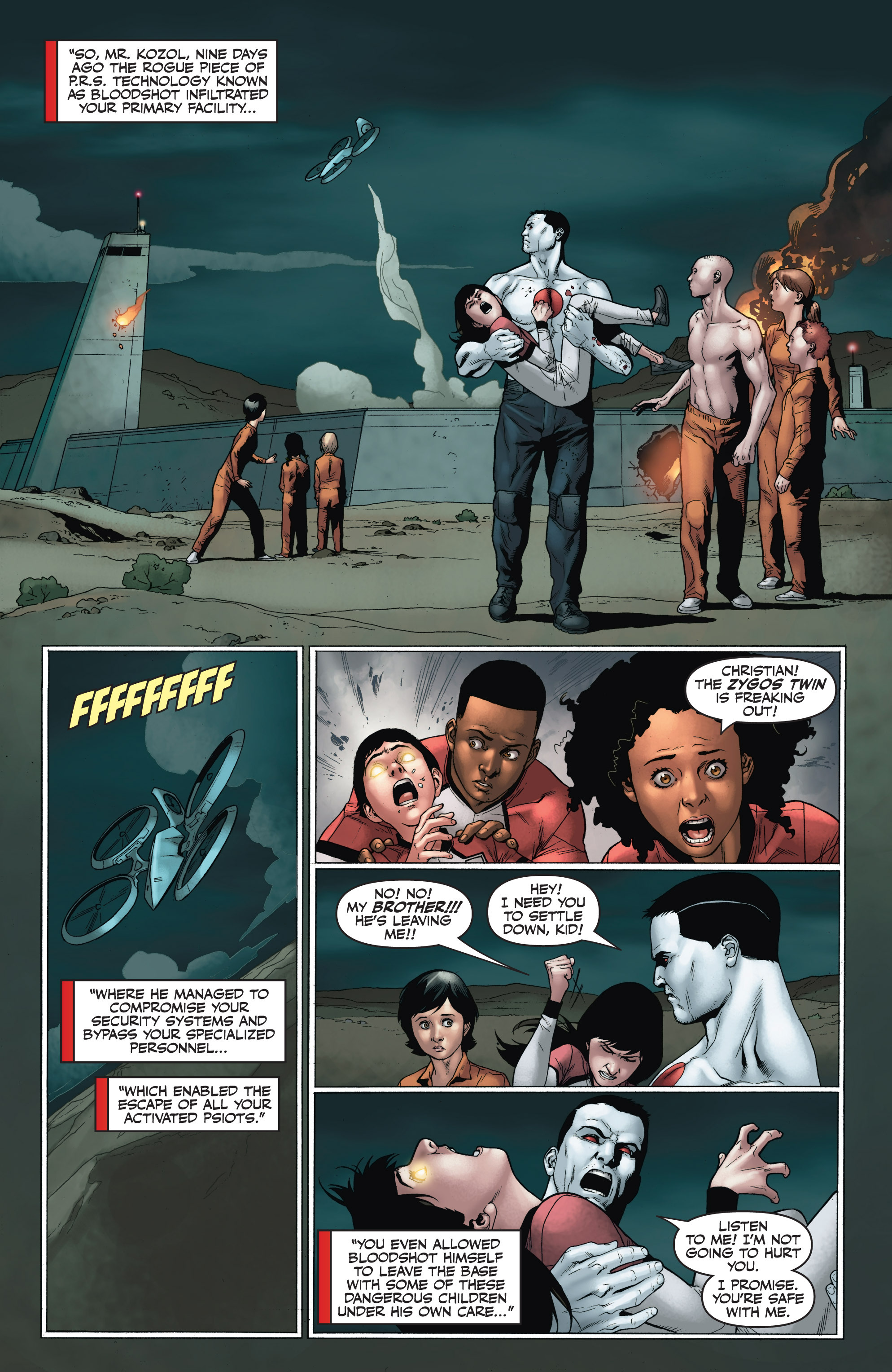 Read online Armor Hunters: Harbinger comic -  Issue # TPB - 102