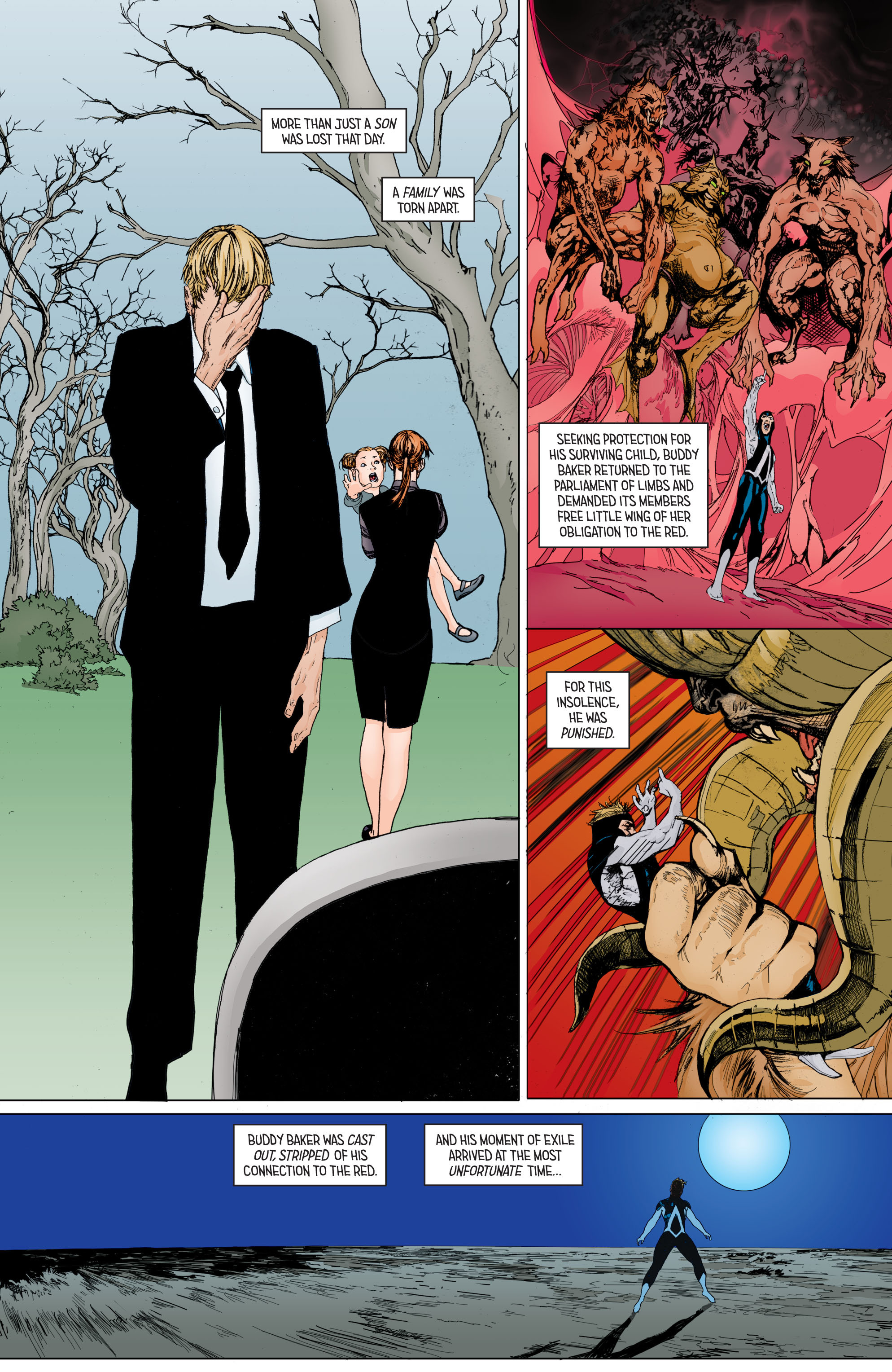 Read online Secret Origins (2014) comic -  Issue #8 - 17