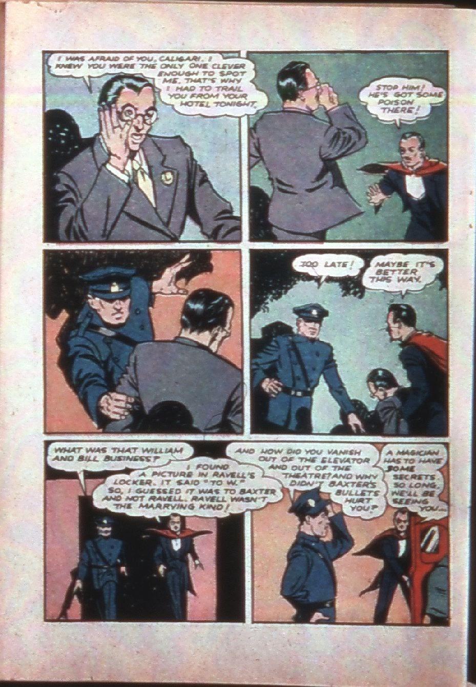 Read online Super-Magician Comics comic -  Issue #7 - 47