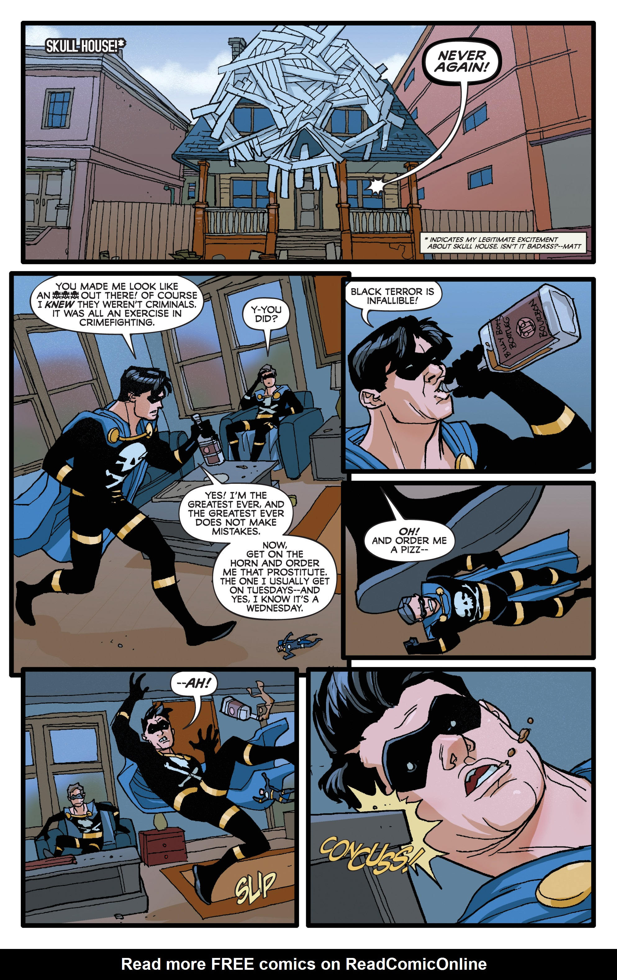 Read online Project Superpowers: Hero Killers comic -  Issue #1 - 14