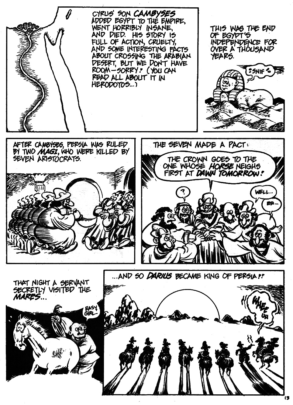 Read online The Cartoon History of the Universe comic -  Issue #6 - 15