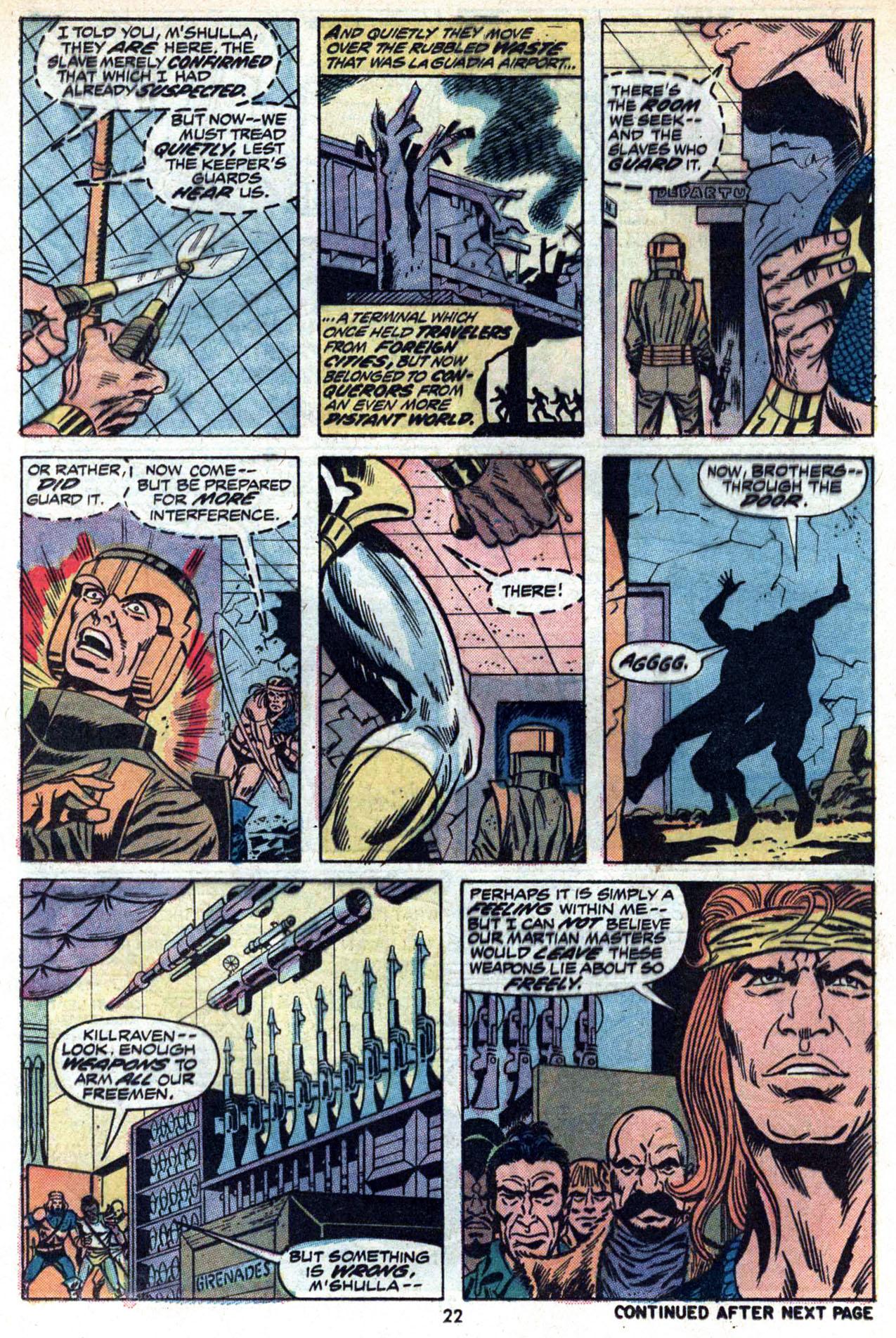 Read online Amazing Adventures (1970) comic -  Issue #20 - 24