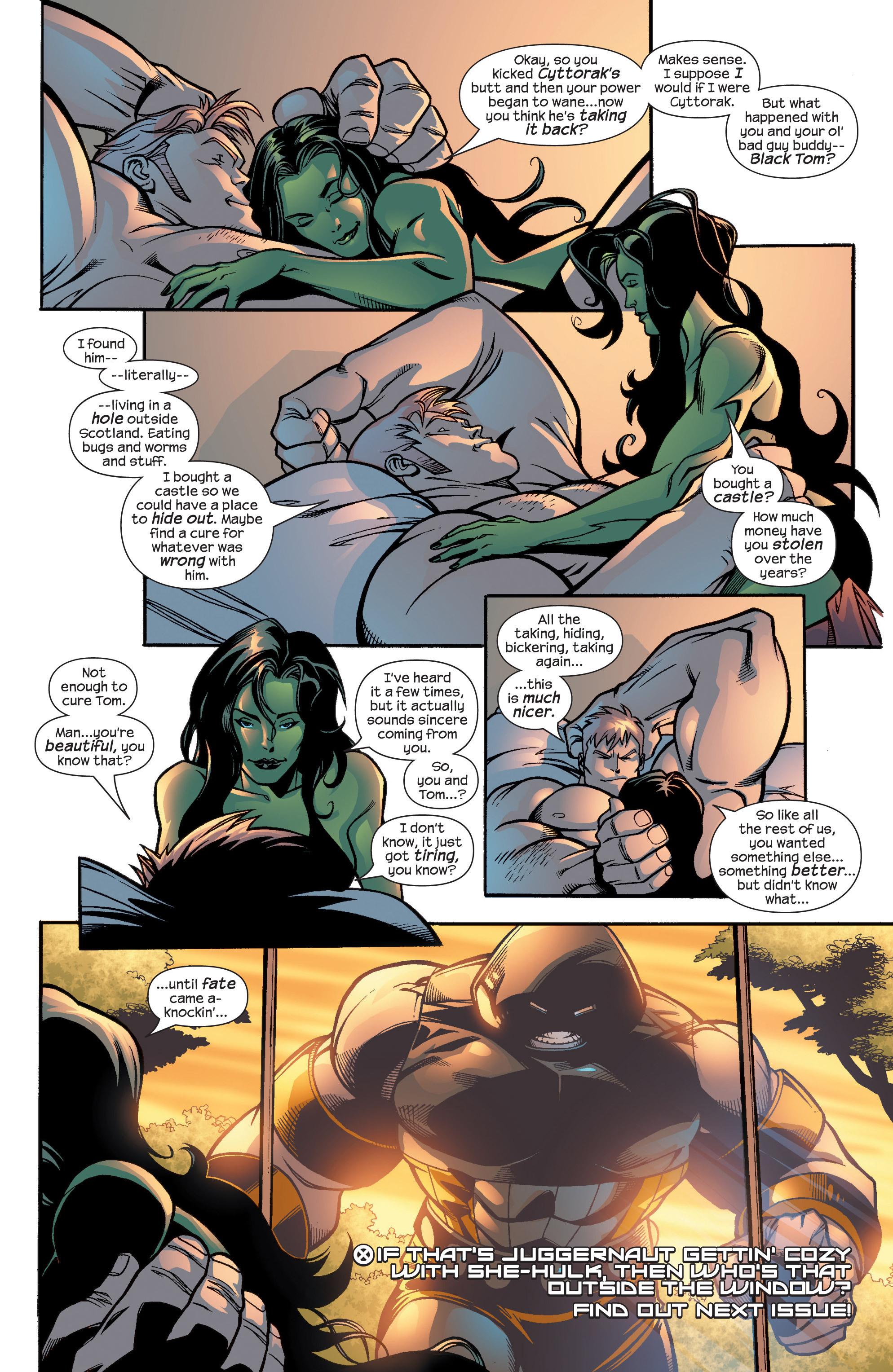 Read online Uncanny X-Men (1963) comic -  Issue #435 - 22