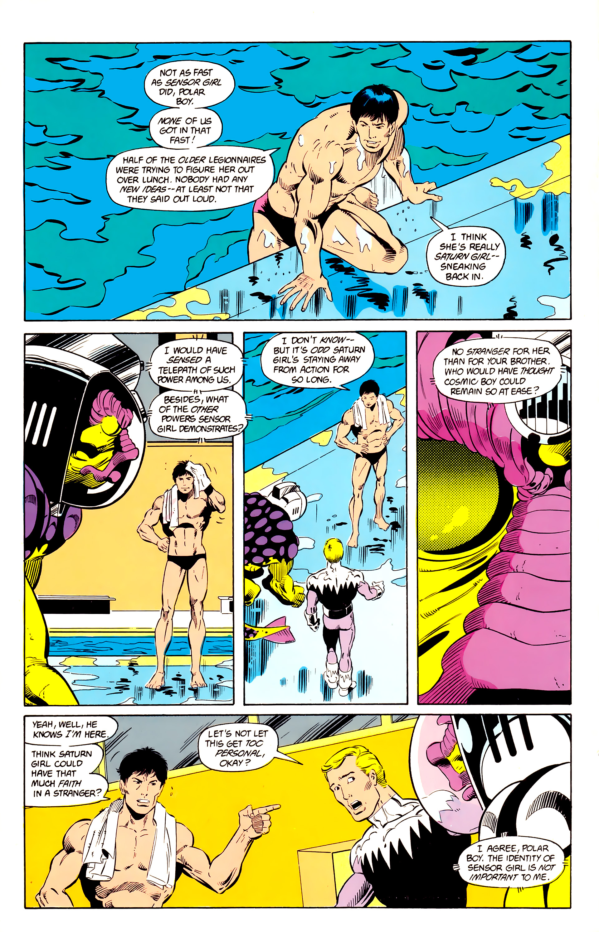Legion of Super-Heroes (1984) 24 Page 15