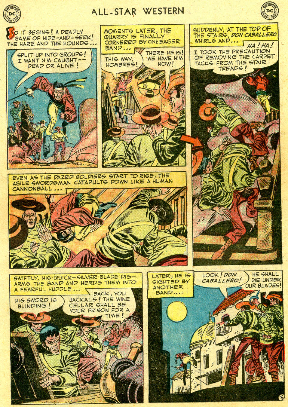 Read online All-Star Western (1951) comic -  Issue #64 - 20
