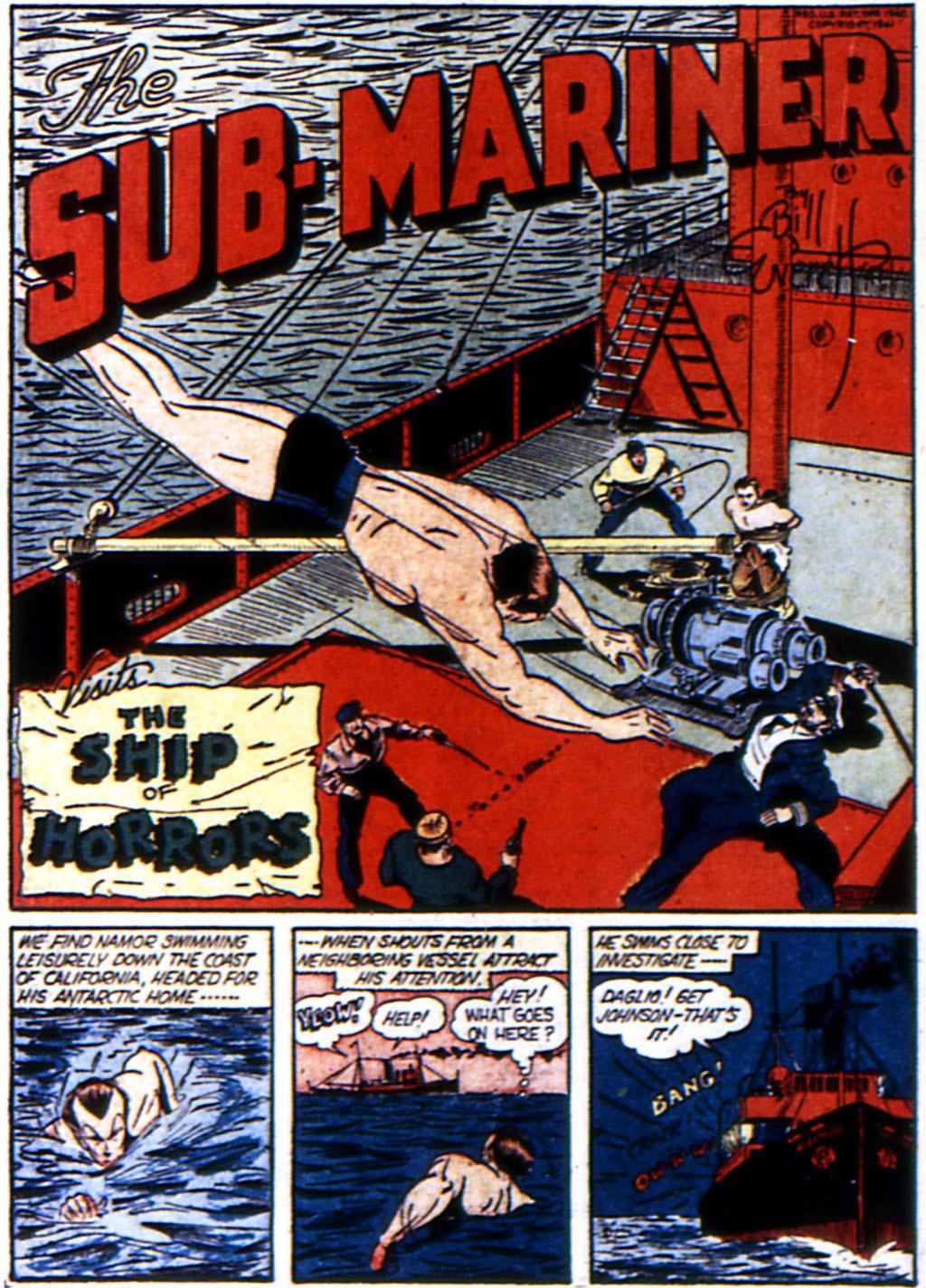 Read online All-Winners Comics comic -  Issue #3 - 43
