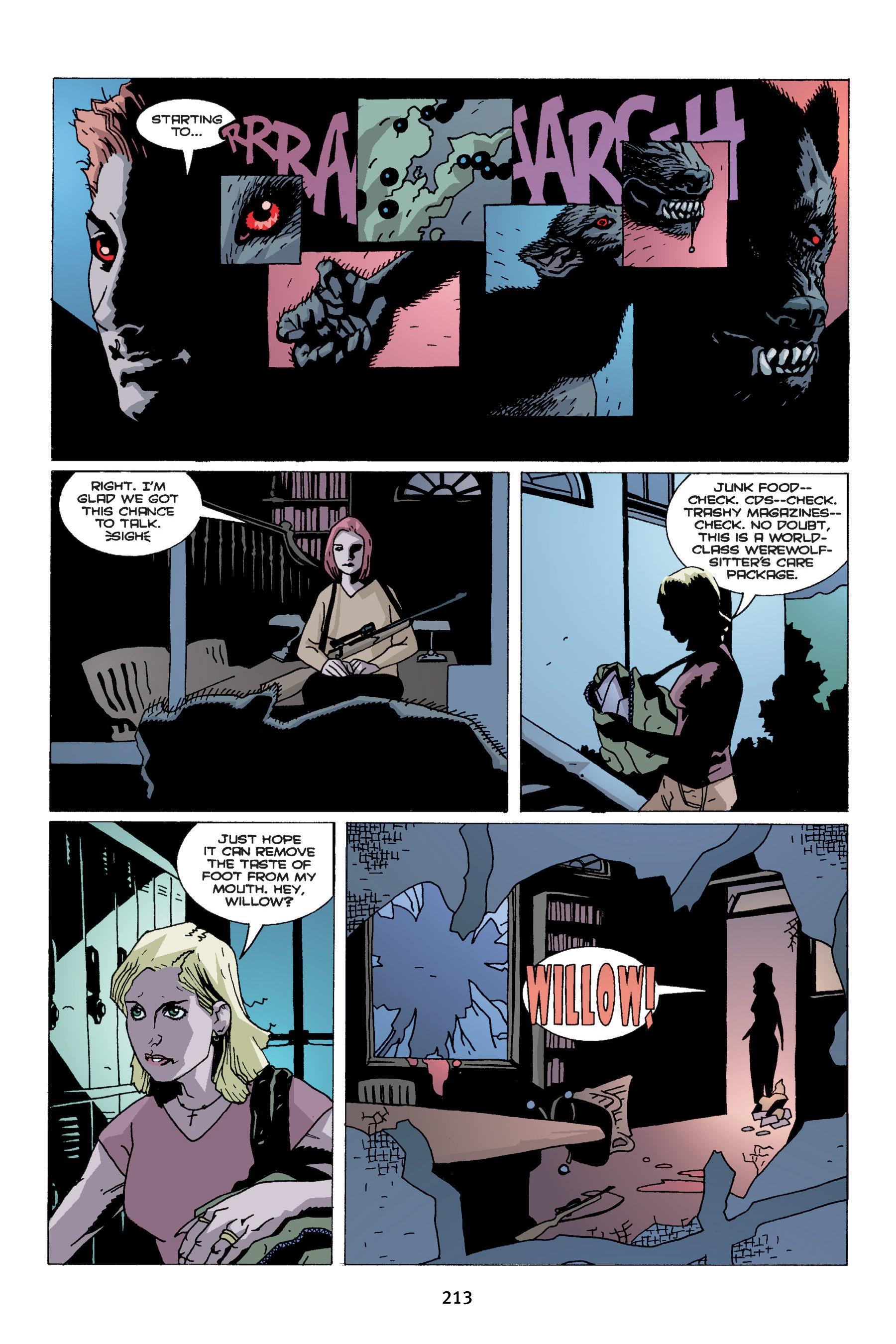 Read online Buffy the Vampire Slayer: Omnibus comic -  Issue # TPB 4 - 211