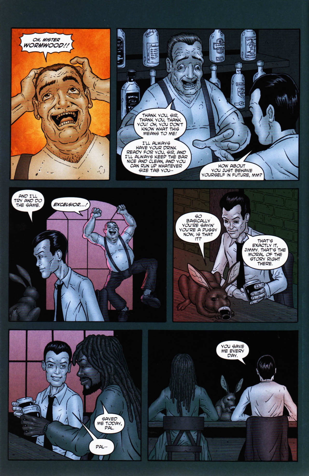 Read online Chronicles of Wormwood: The Last Enemy comic -  Issue # Full - 44