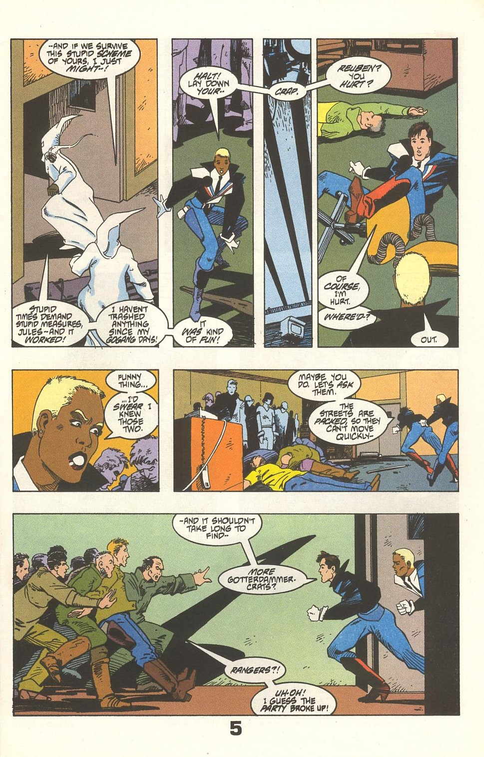 Read online American Flagg! comic -  Issue #33 - 7