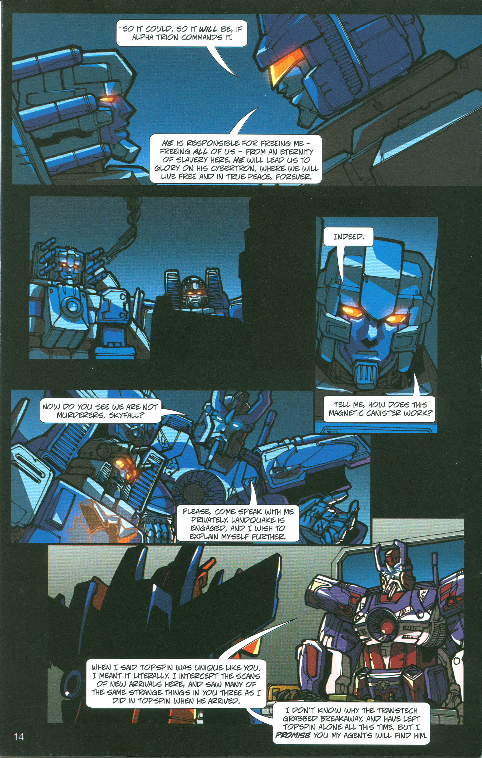 Read online Transformers: Collectors' Club comic -  Issue #21 - 14