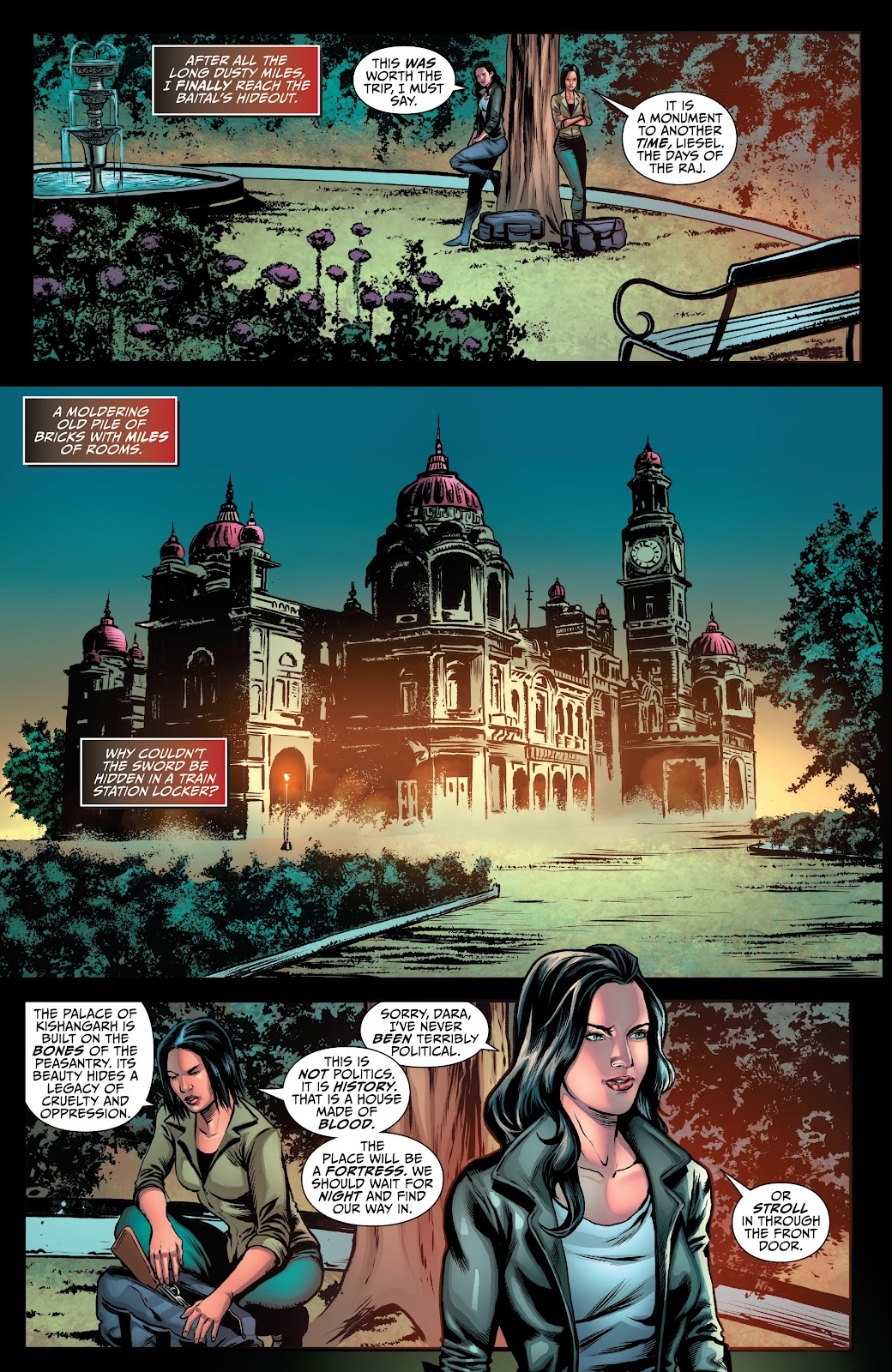 Read online Van Helsing: Sword of Heaven comic -  Issue #4 - 6