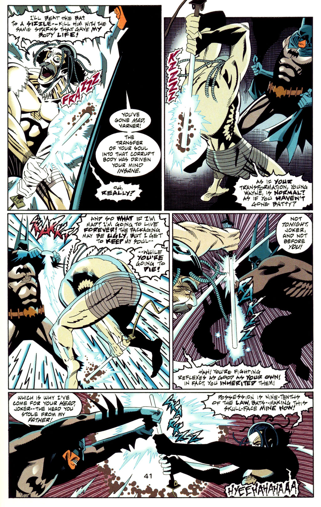 Read online Batman: Haunted Gotham comic -  Issue #2 - 43