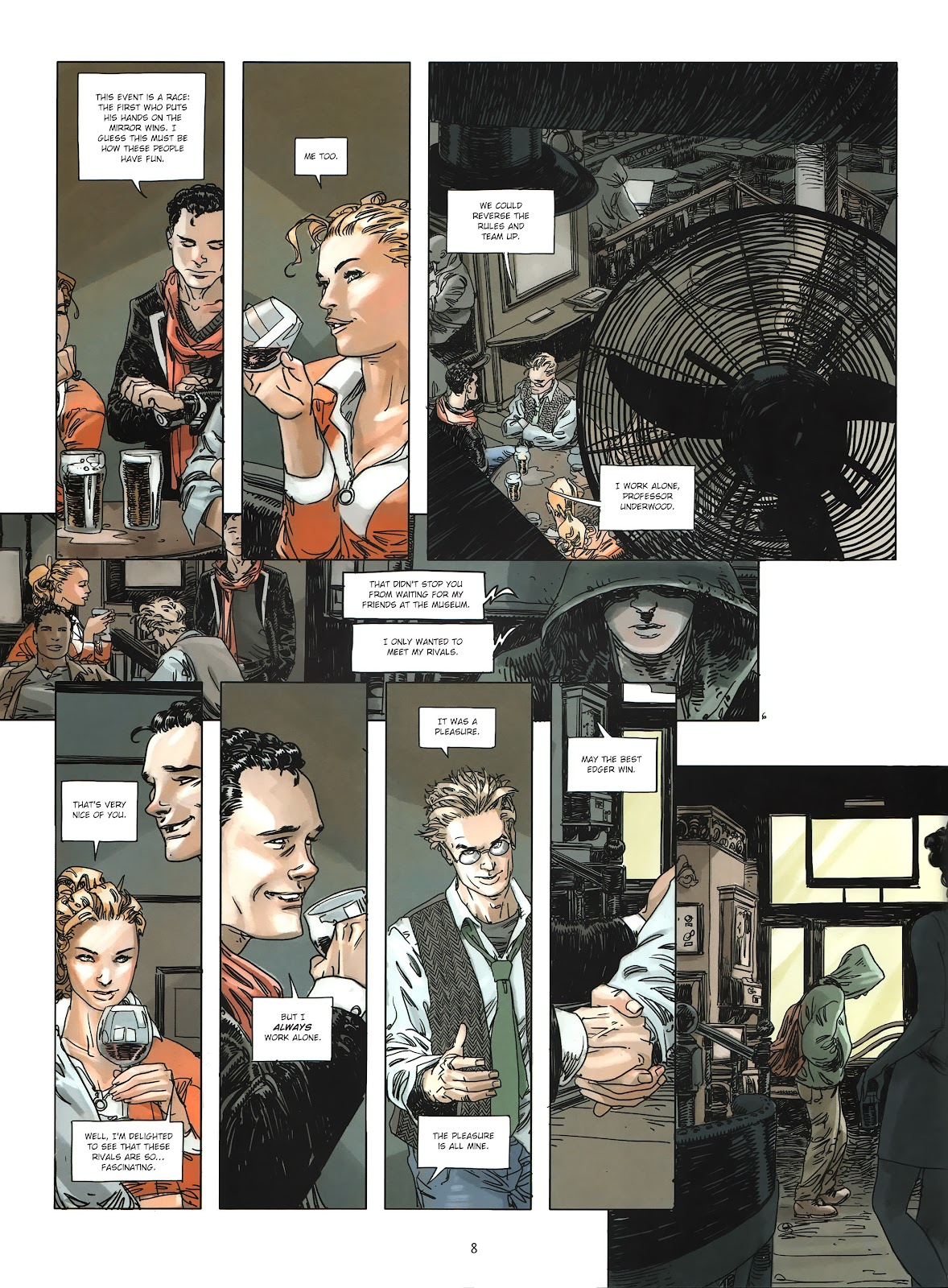 Read online Cutting Edge (2013) comic -  Issue #3 - 8
