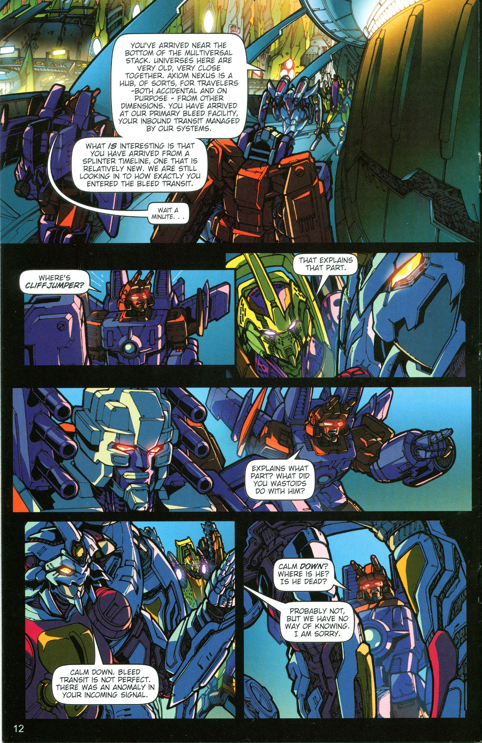 Read online Transformers: Collectors' Club comic -  Issue #19 - 12