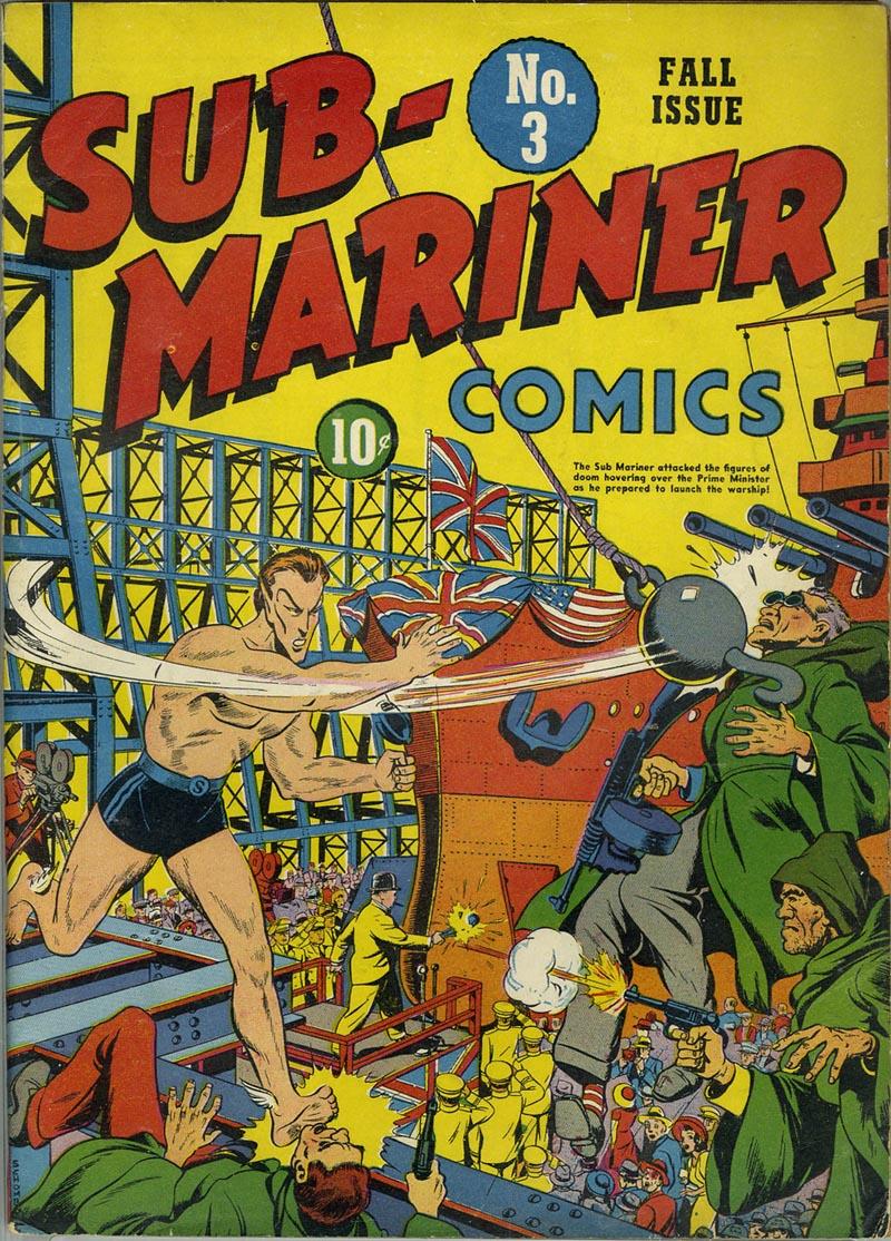 Sub-Mariner Comics 3 Page 1