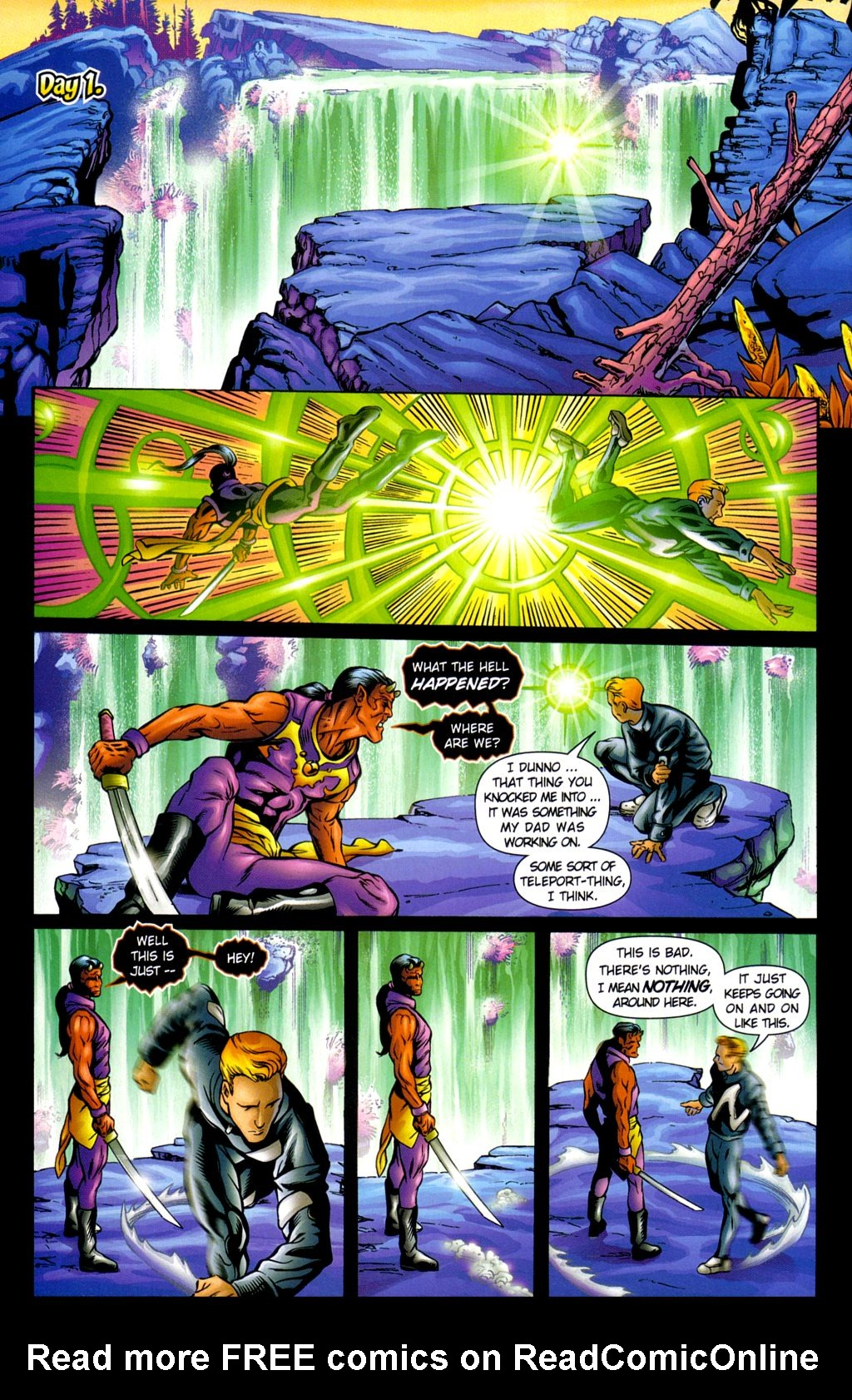 Read online Noble Causes (2002) comic -  Issue #3 - 19