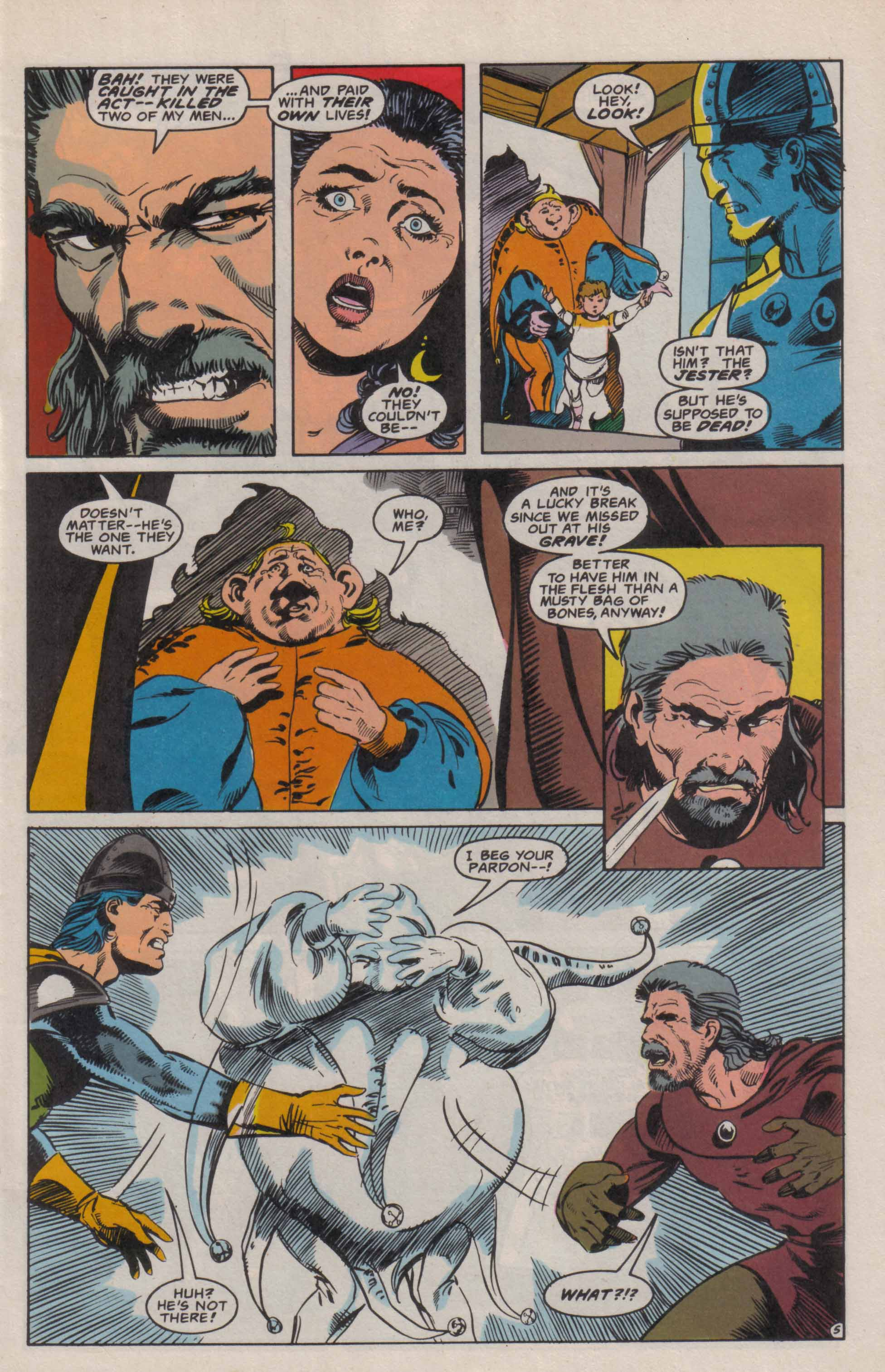 Read online Advanced Dungeons & Dragons comic -  Issue #6 - 6