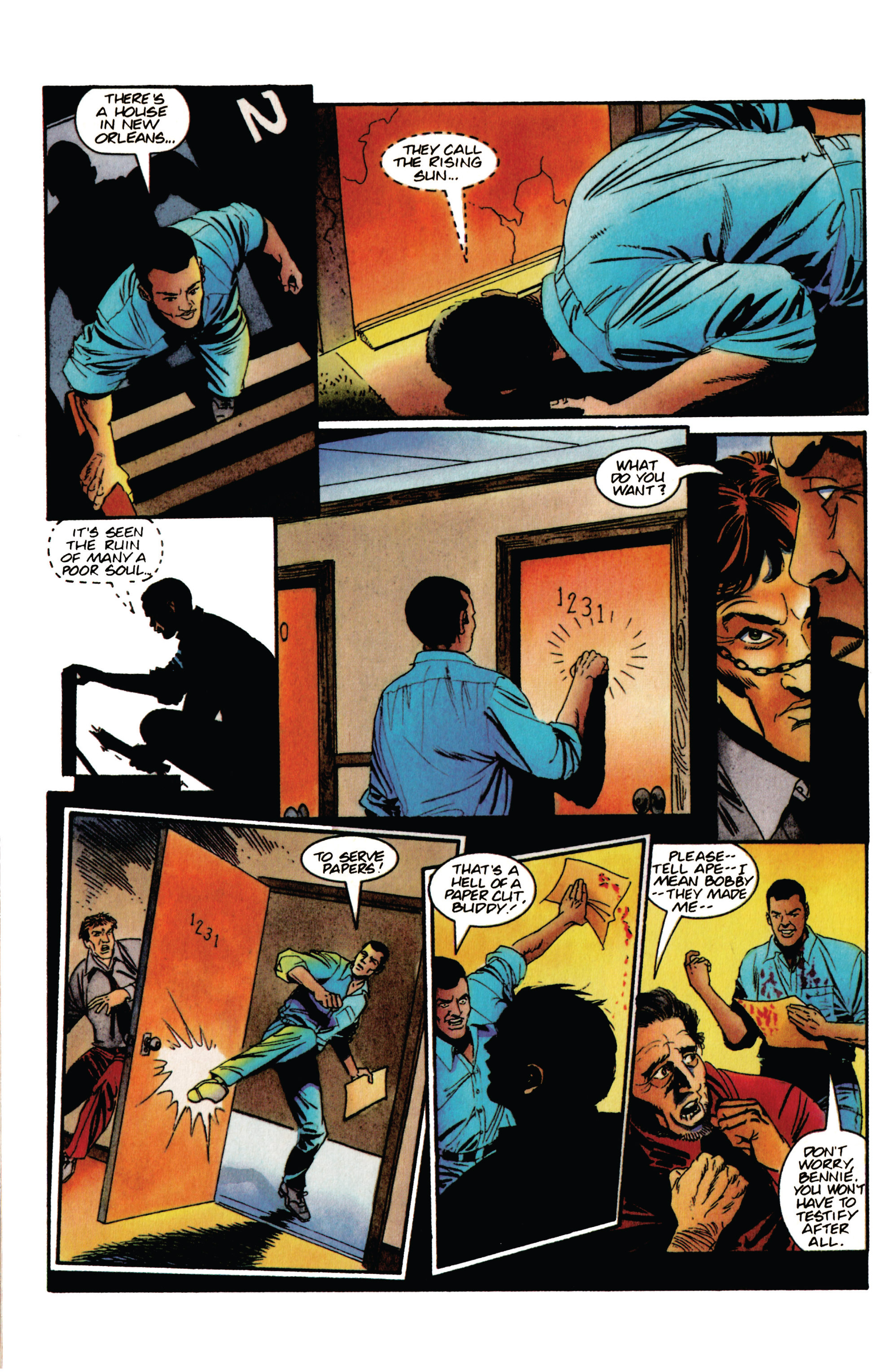 Read online Shadowman (1992) comic -  Issue #35 - 8