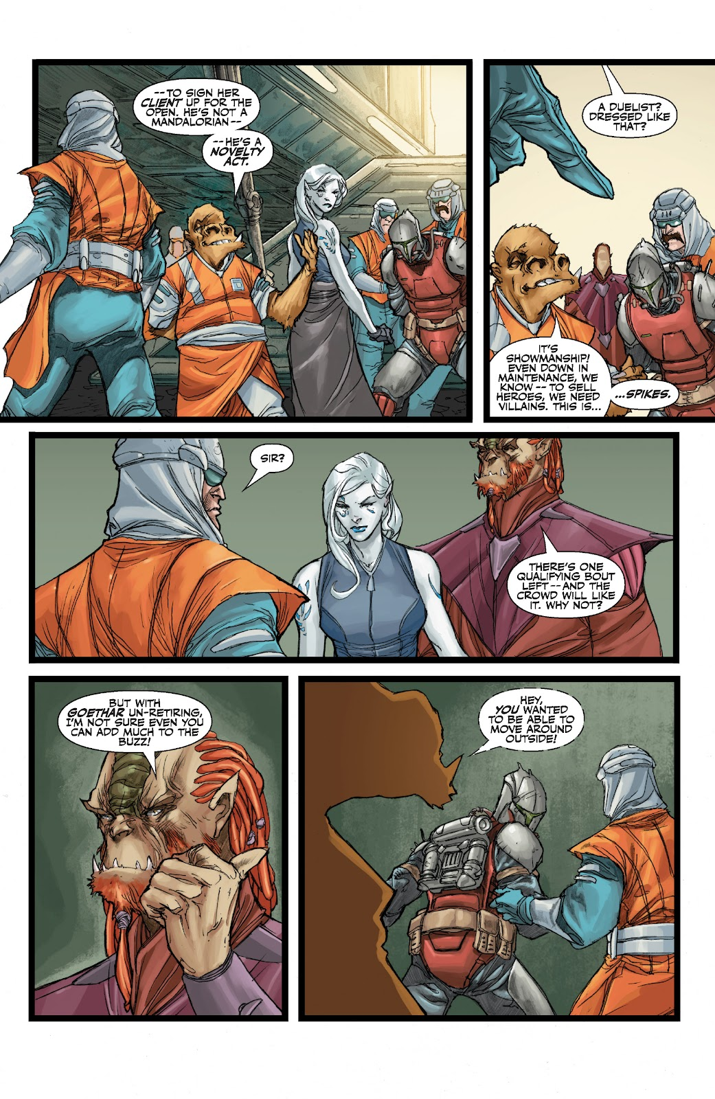 Read online Star Wars Legends: The Old Republic - Epic Collection comic -  Issue # TPB 3 (Part 1) - 49