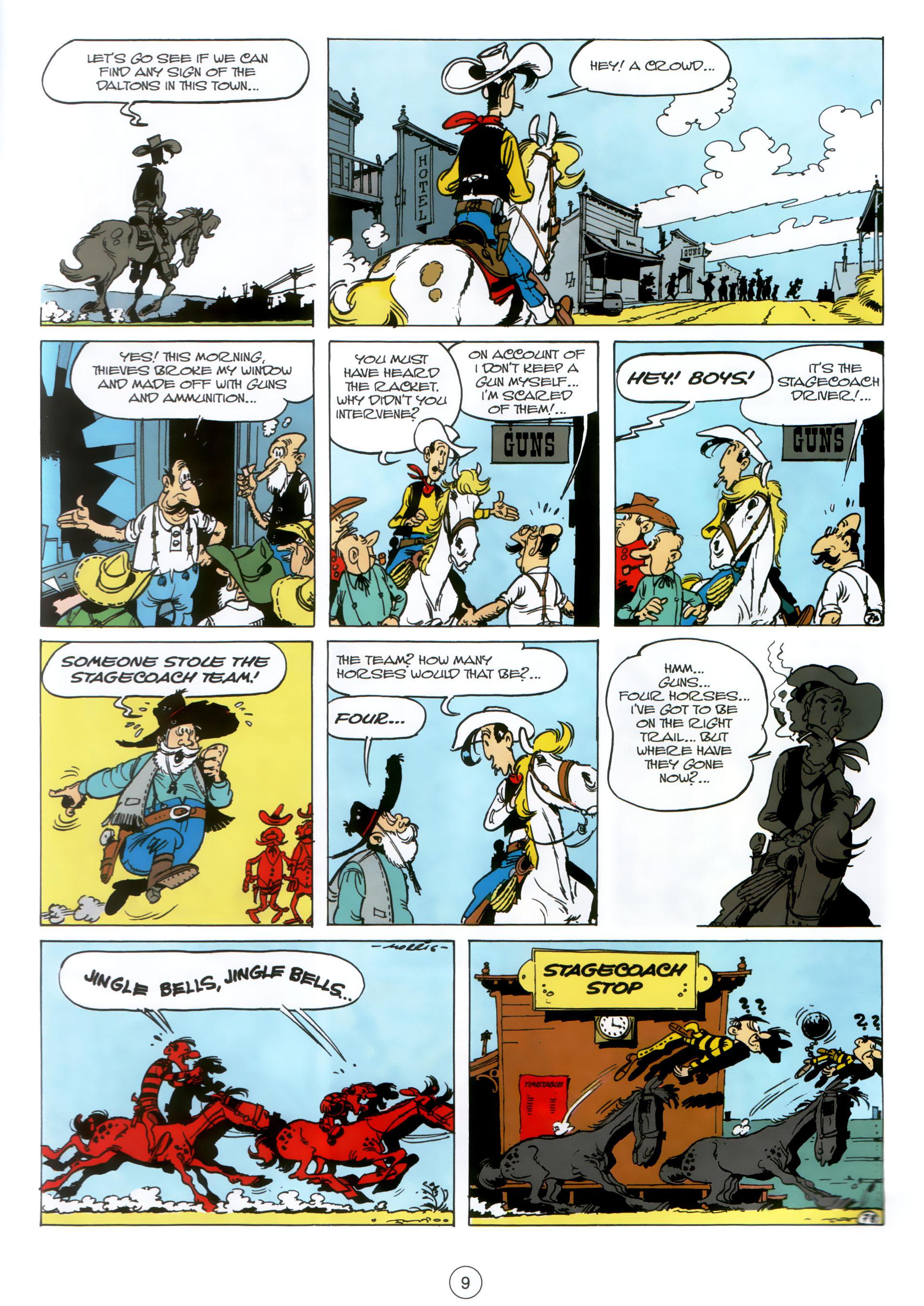 Read online A Lucky Luke Adventure comic -  Issue #30 - 8