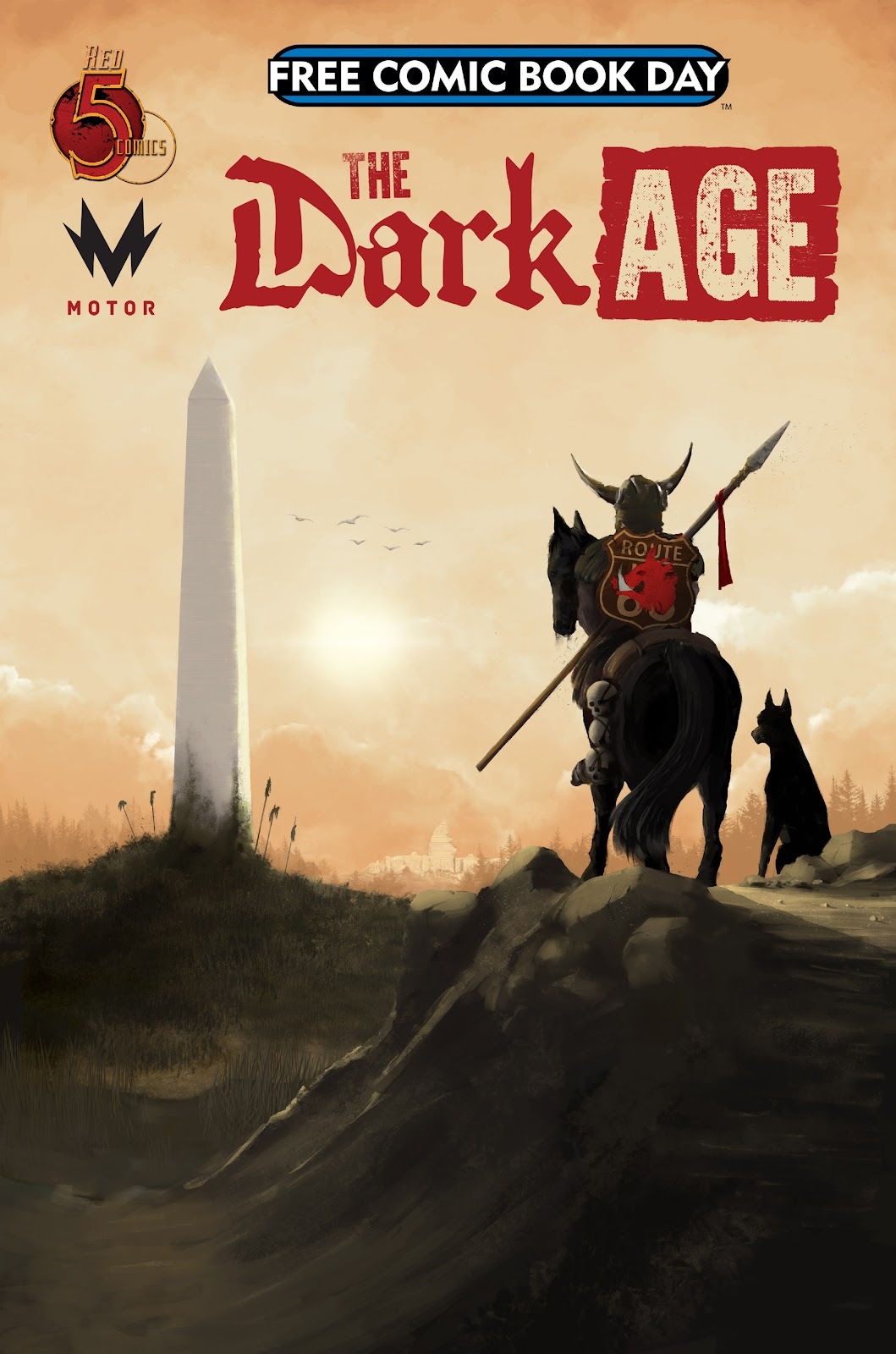 Free Comic Book Day 2019 issue The Dark Age - Page 1
