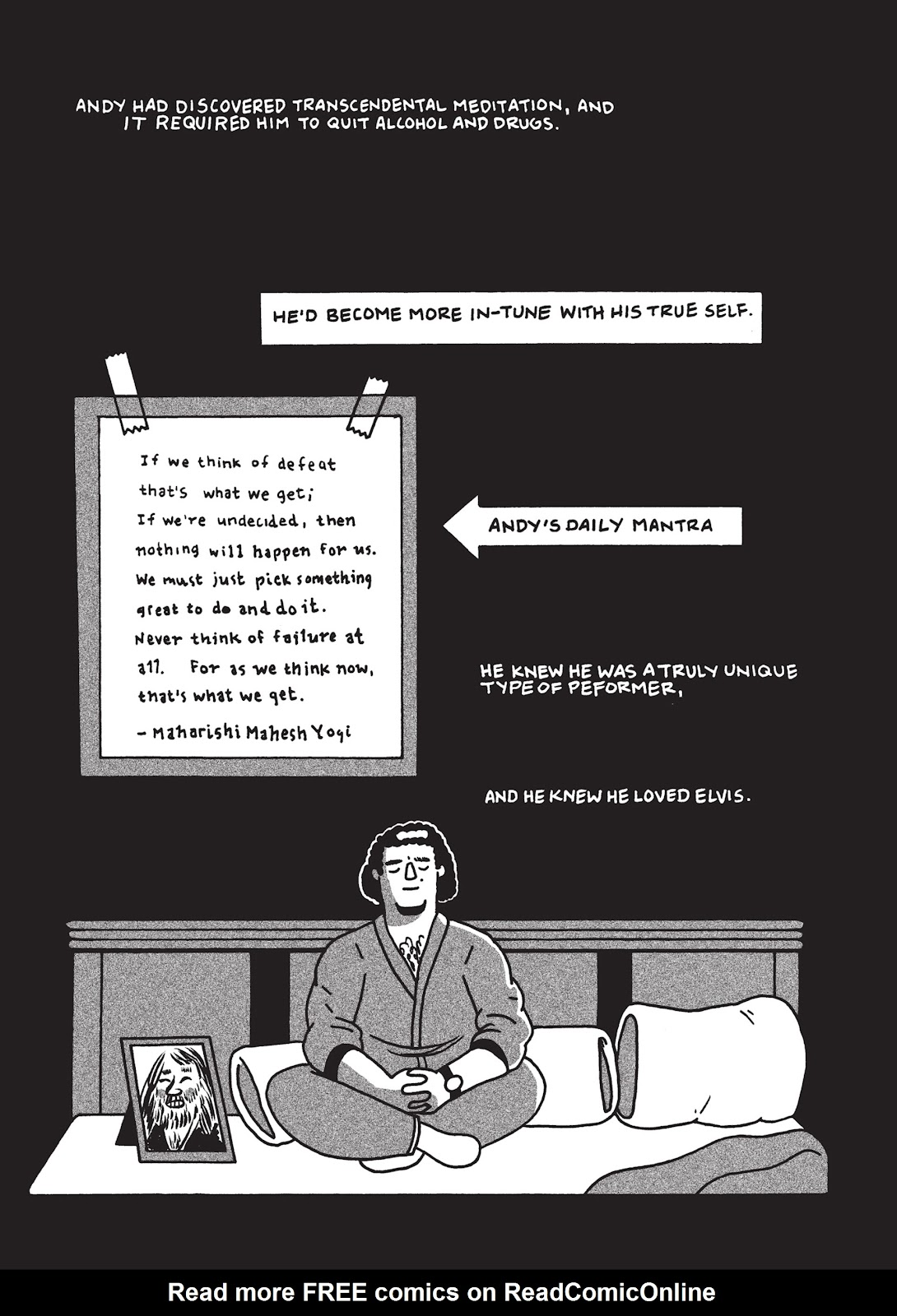 Read online Is This Guy For Real?: The Unbelievable Andy Kaufman comic -  Issue # TPB (Part 1) - 69