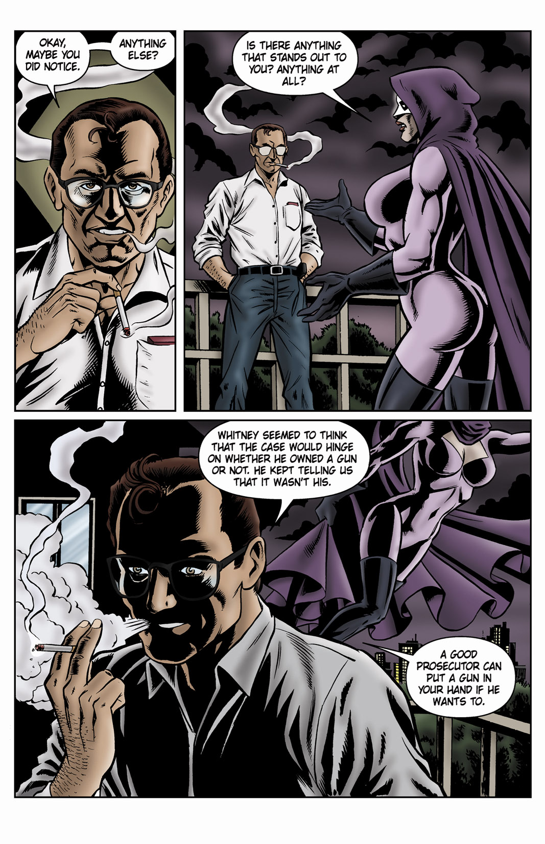 Read online SideChicks comic -  Issue #4 - 26
