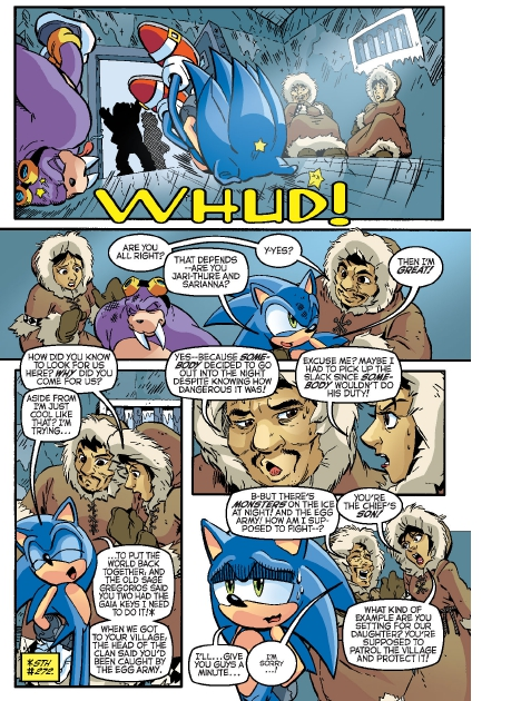 Read online Sonic Comics Spectacular: Speed of Sound comic -  Issue # Full - 126