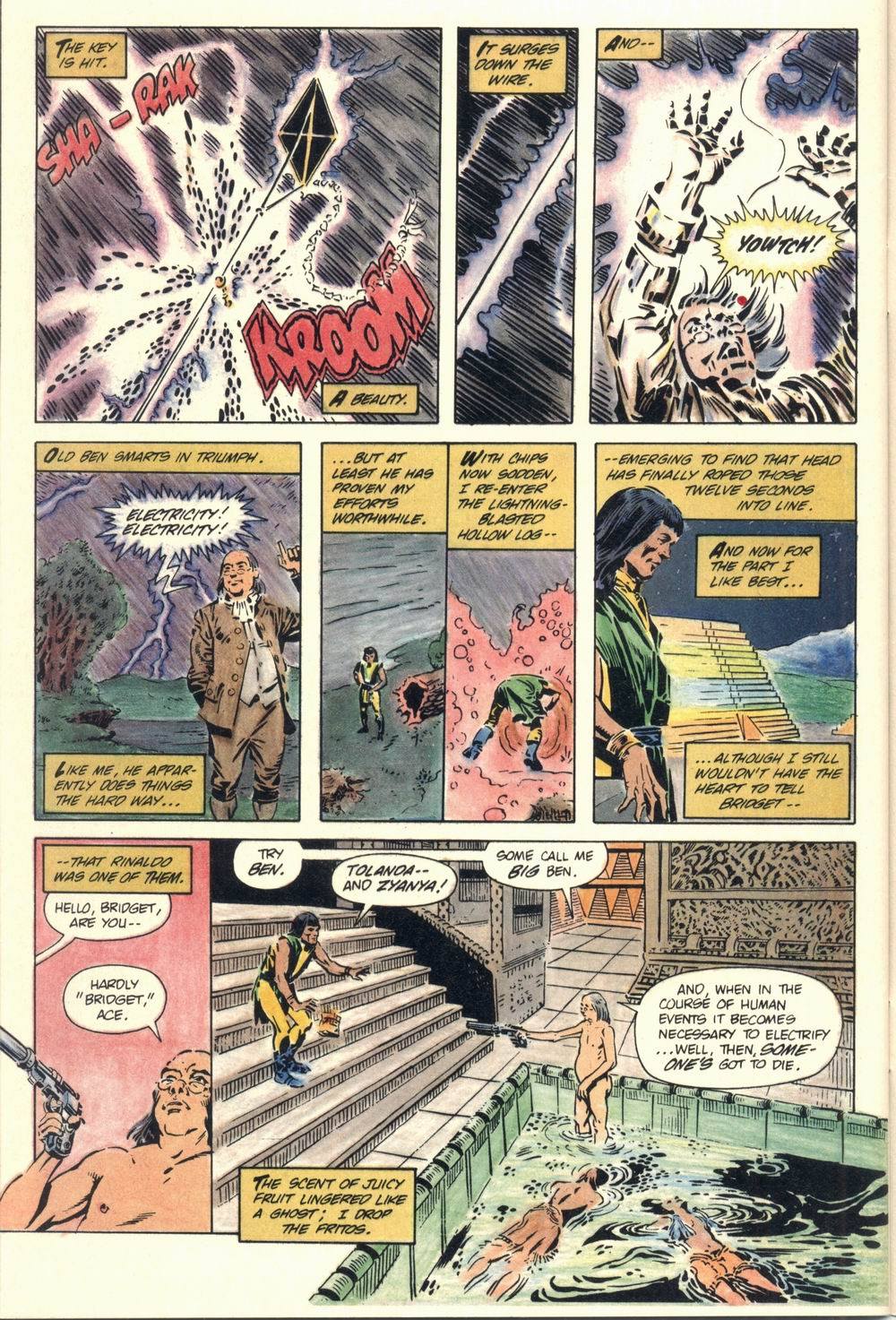 Read online Aztec Ace comic -  Issue #1 - 47