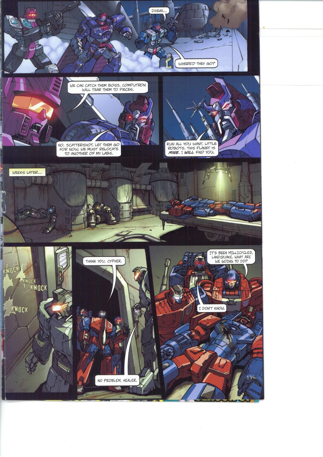 Read online Transformers: Collectors' Club comic -  Issue #26 - 13