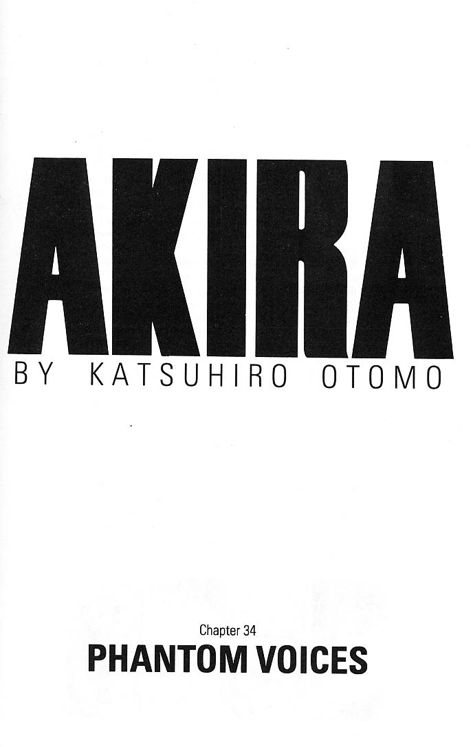 Read online Akira comic -  Issue #34 - 3