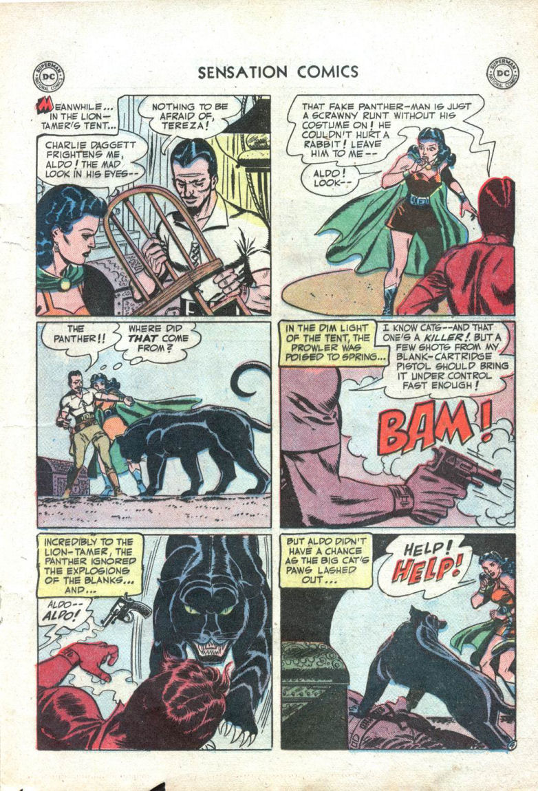 Read online Sensation (Mystery) Comics comic -  Issue #109 - 17