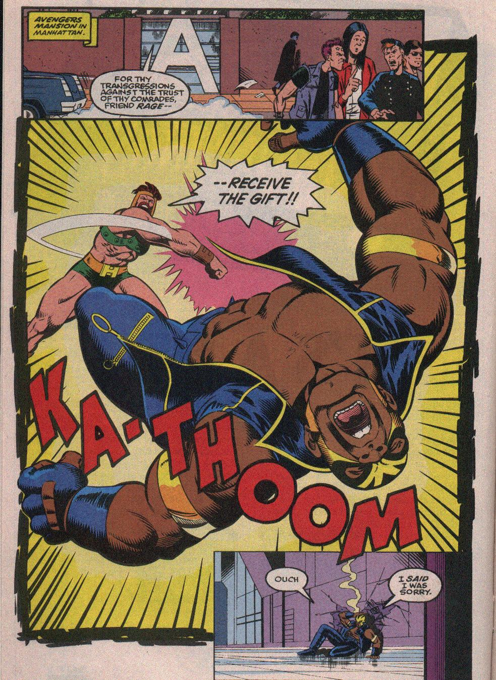 The New Warriors Issue #26 #30 - English 7