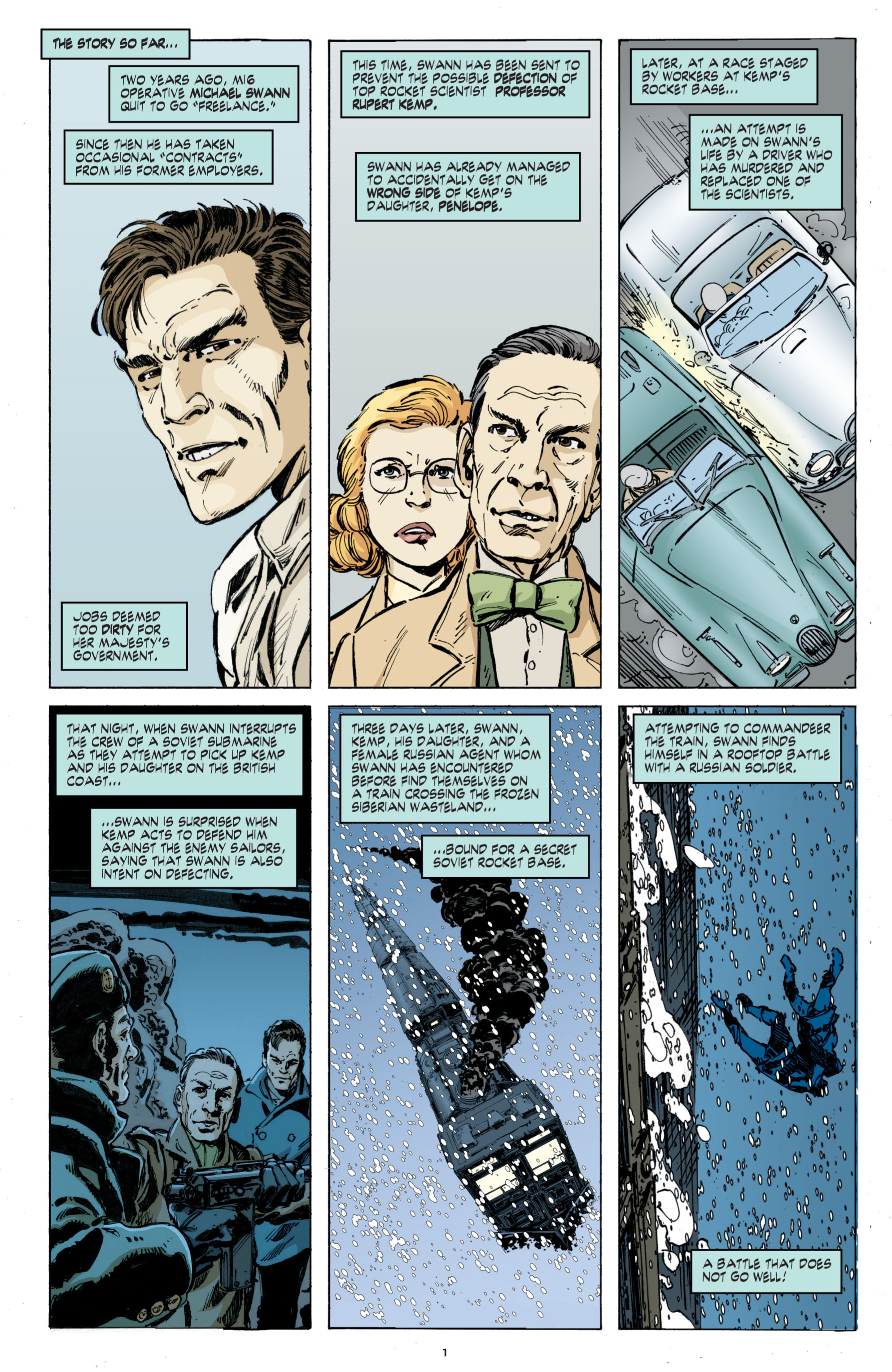Read online Cold War comic -  Issue # TPB - 85