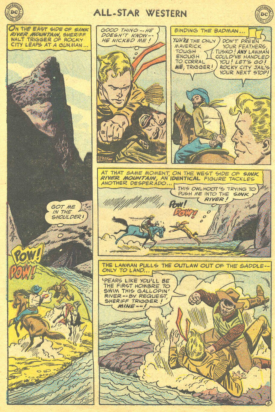 Read online All-Star Western (1951) comic -  Issue #88 - 4