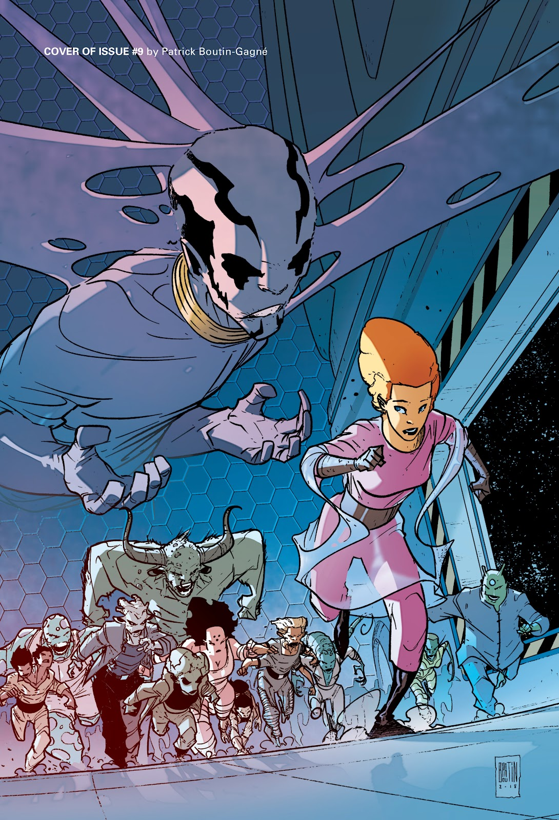 Read online Infinity 8 comic -  Issue # _TPB 3 - 96