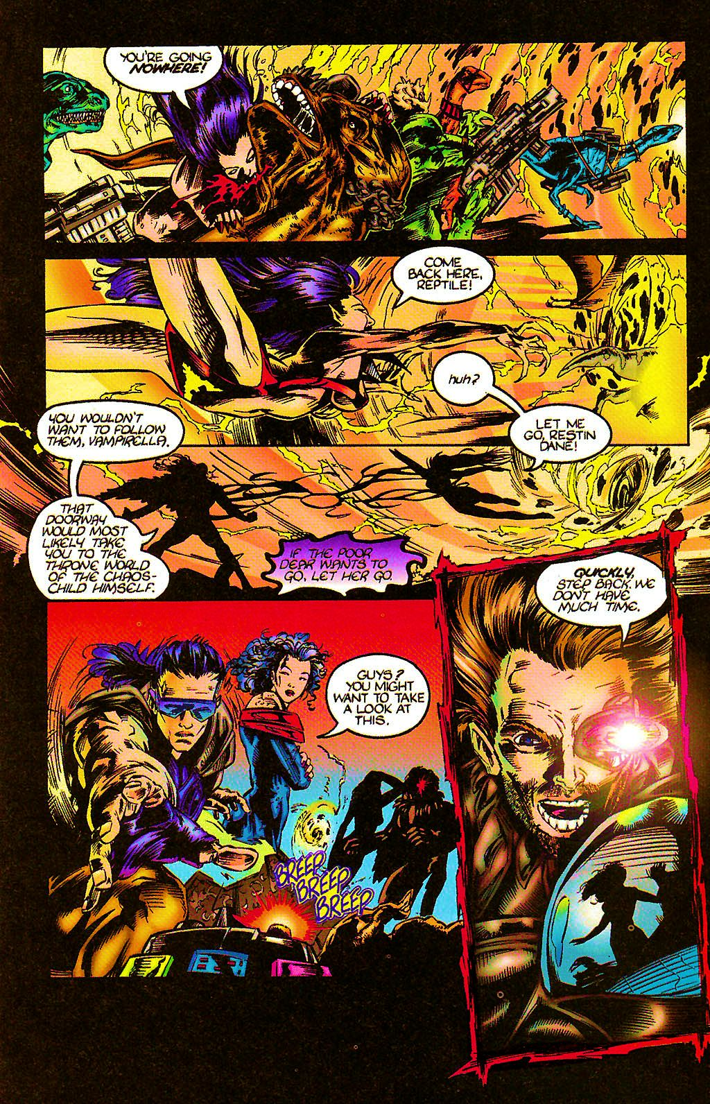 Read online Chains of Chaos comic -  Issue #2 - 20