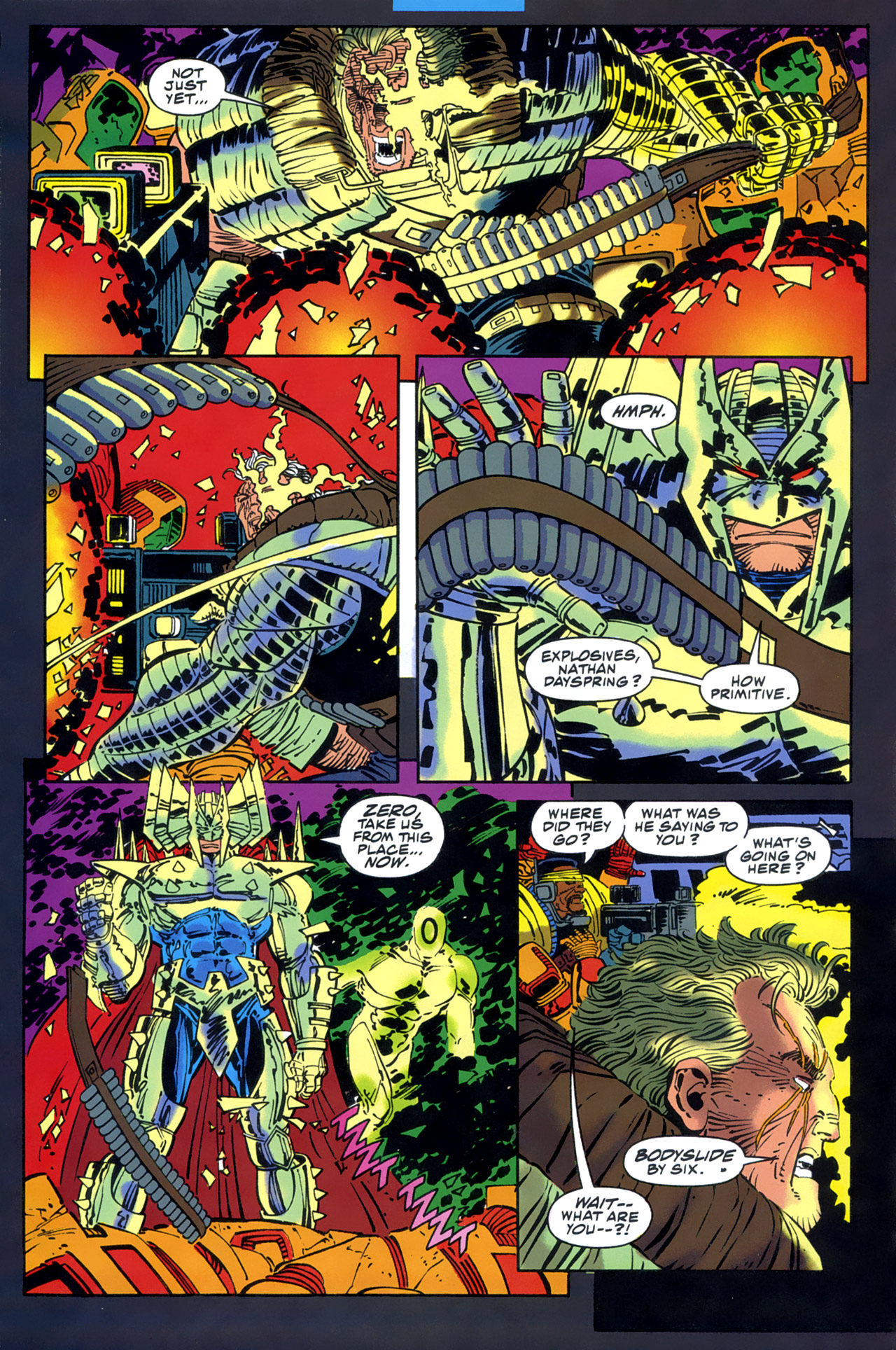Read online Cable - Blood and Metal comic -  Issue #2 - 12