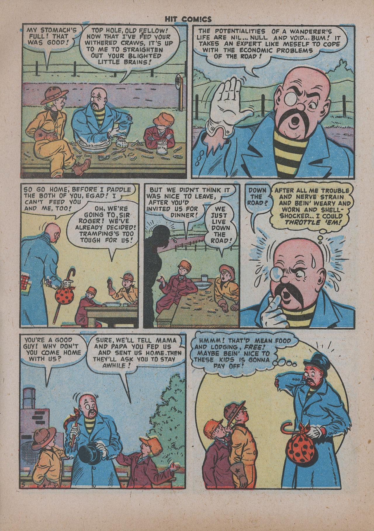 Read online Hit Comics comic -  Issue #62 - 21