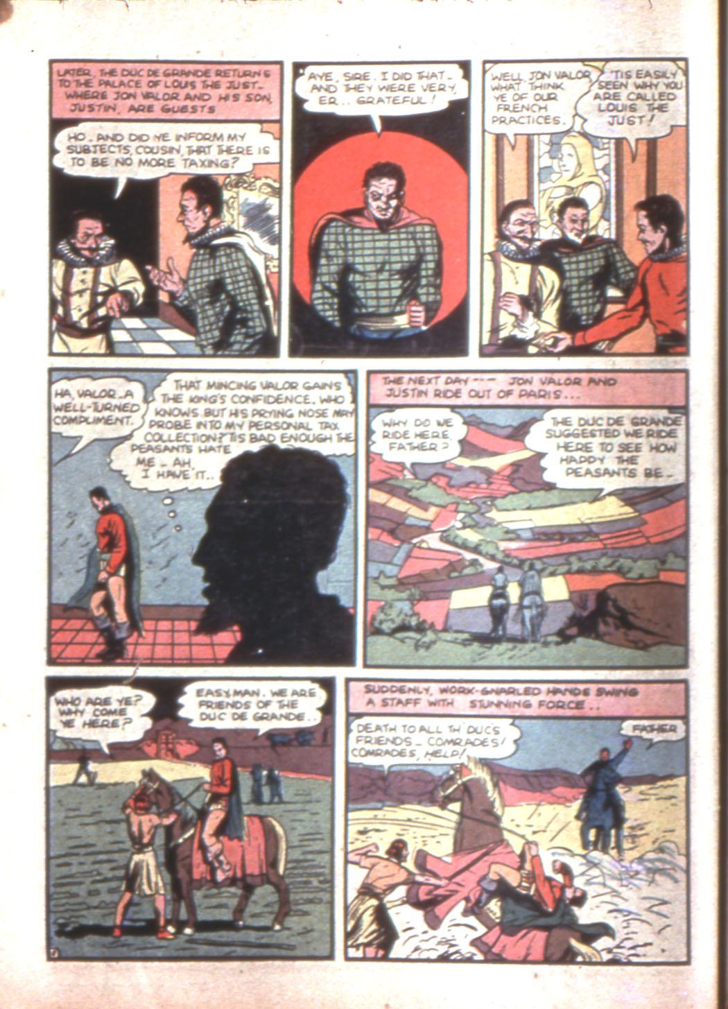 Read online Sensation (Mystery) Comics comic -  Issue #11 - 18