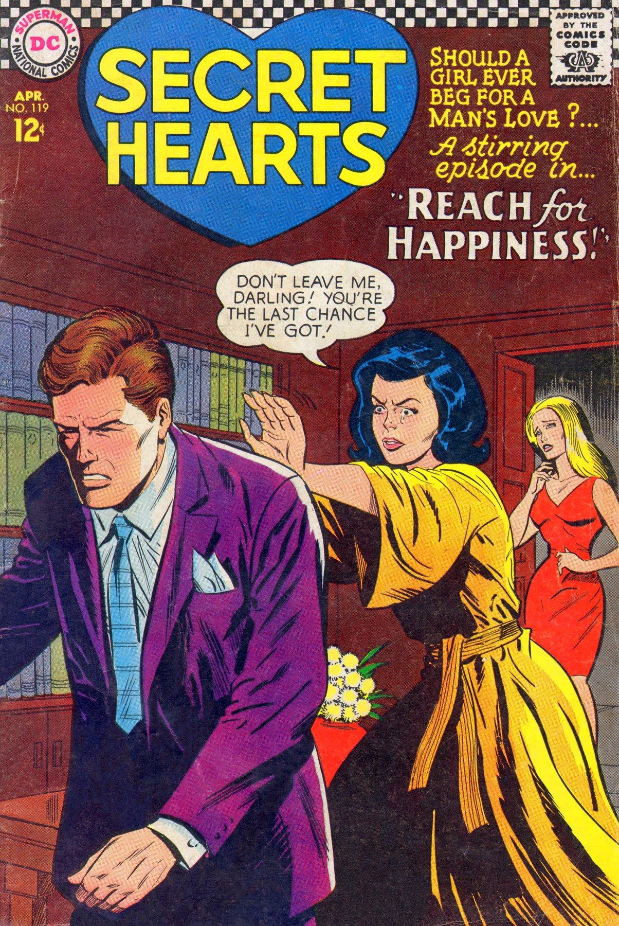Read online Secret Hearts comic -  Issue #119 - 1