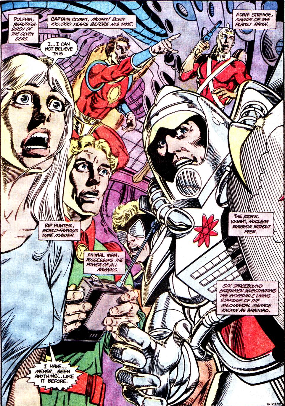 Crisis on Infinite Earths (1985) 12 Page 1