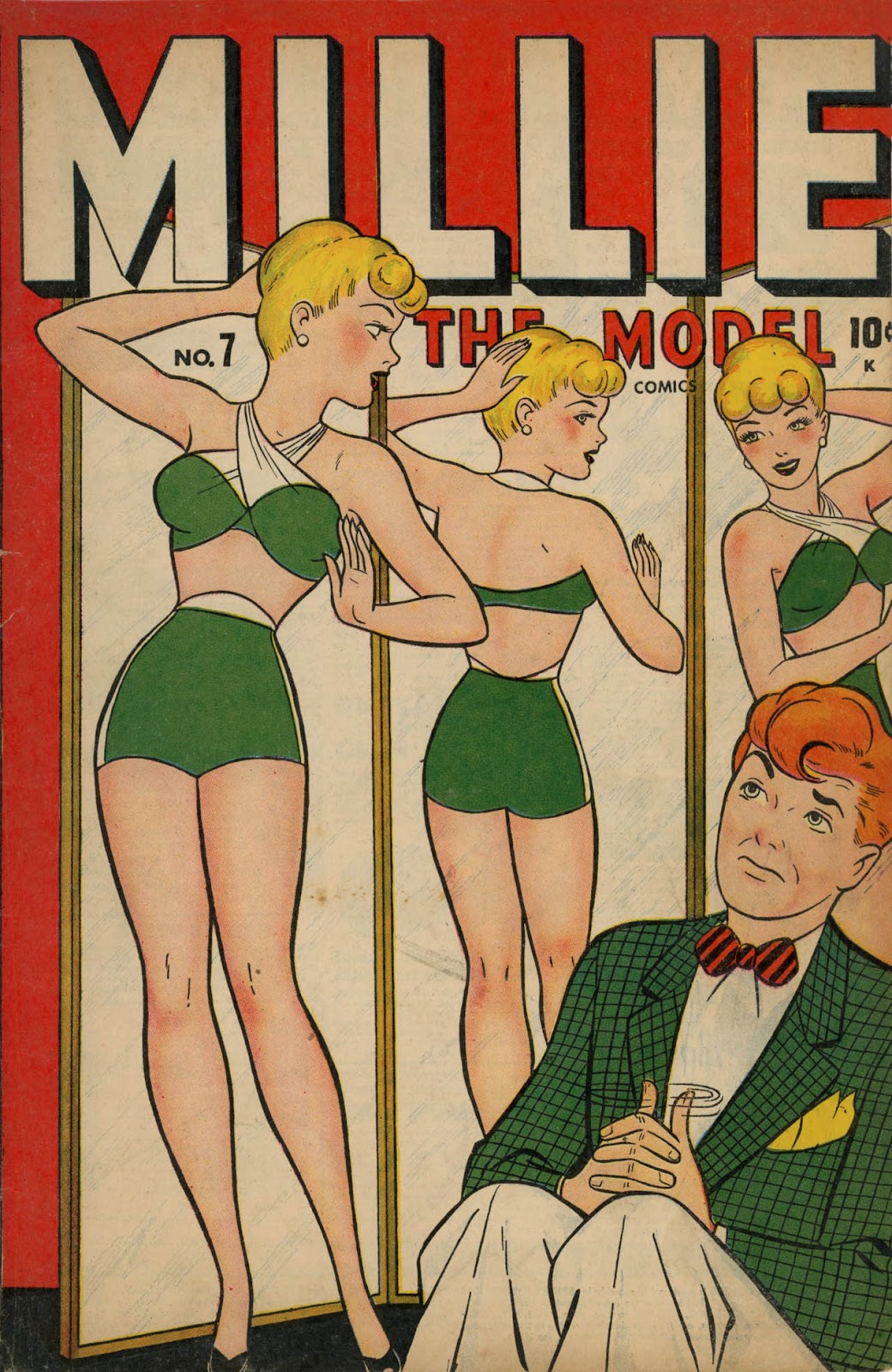 Read online Millie the Model comic -  Issue #7 - 1