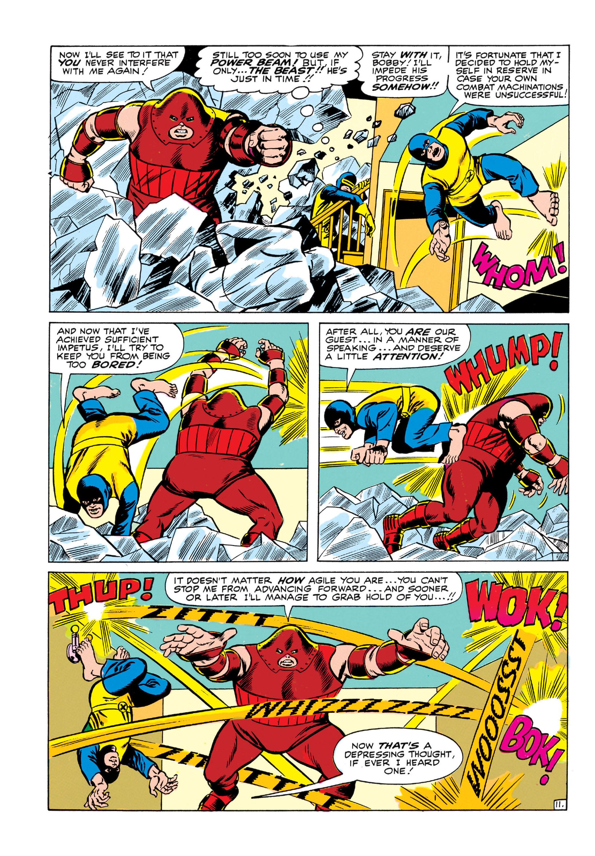 Read online Uncanny X-Men (1963) comic -  Issue #13 - 12