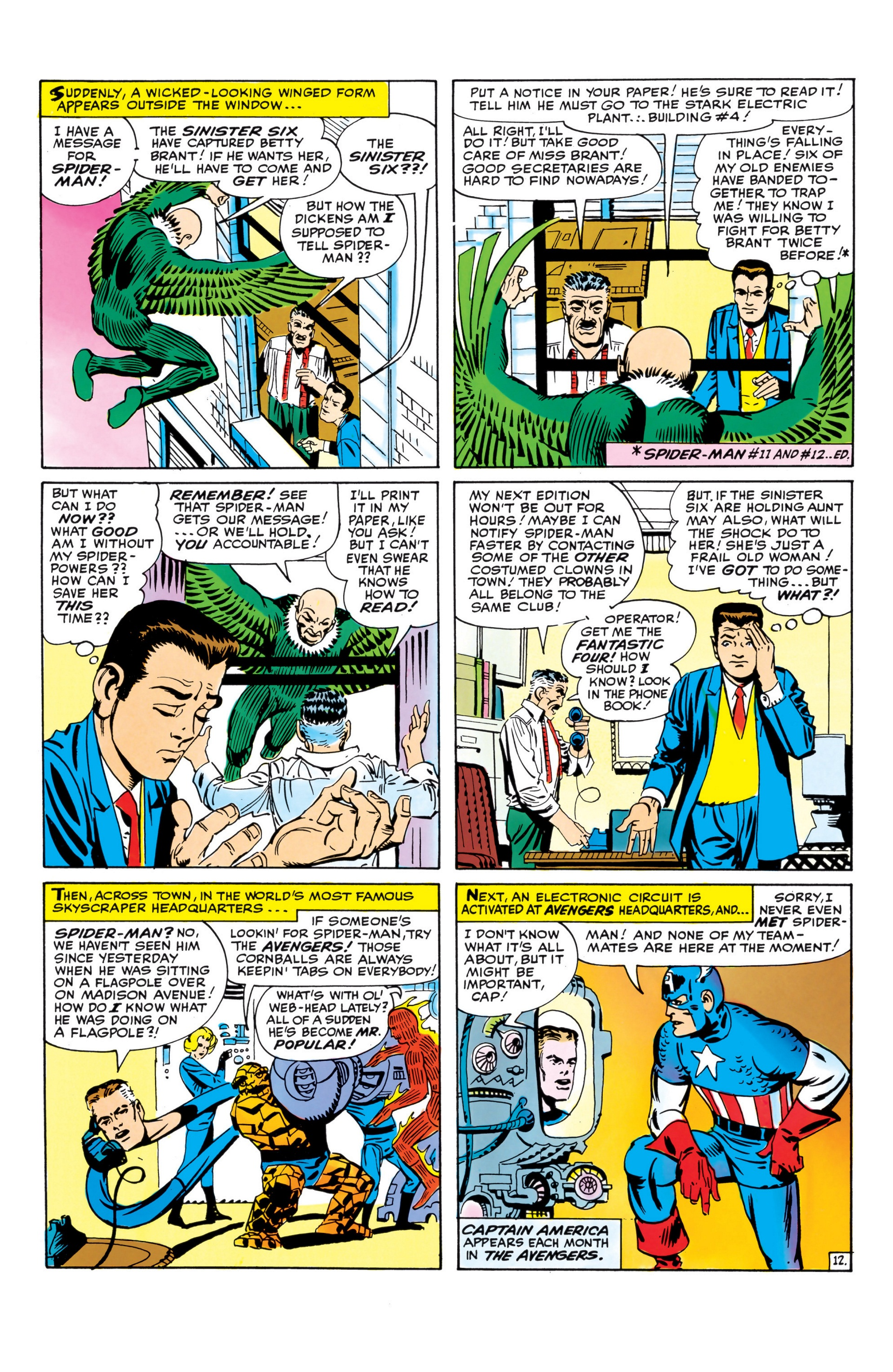The Amazing Spider-Man (1963) _Annual_1 Page 12