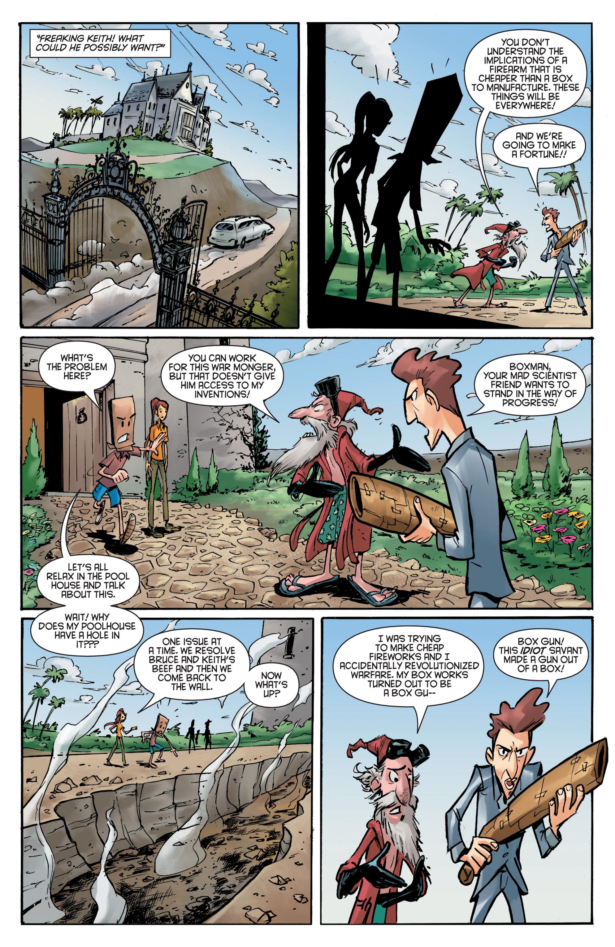 Read online Smosh comic -  Issue #5 - 17