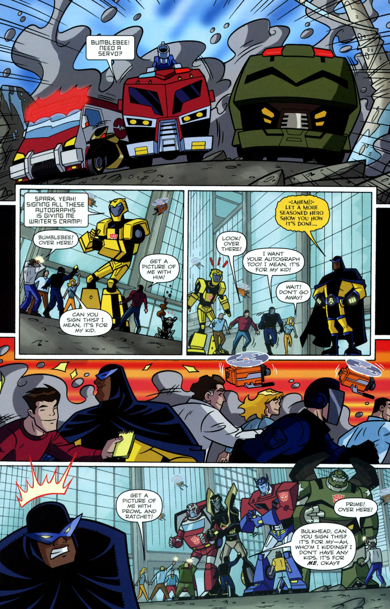 Read online Transformers Animated: The Arrival comic -  Issue #2 - 11