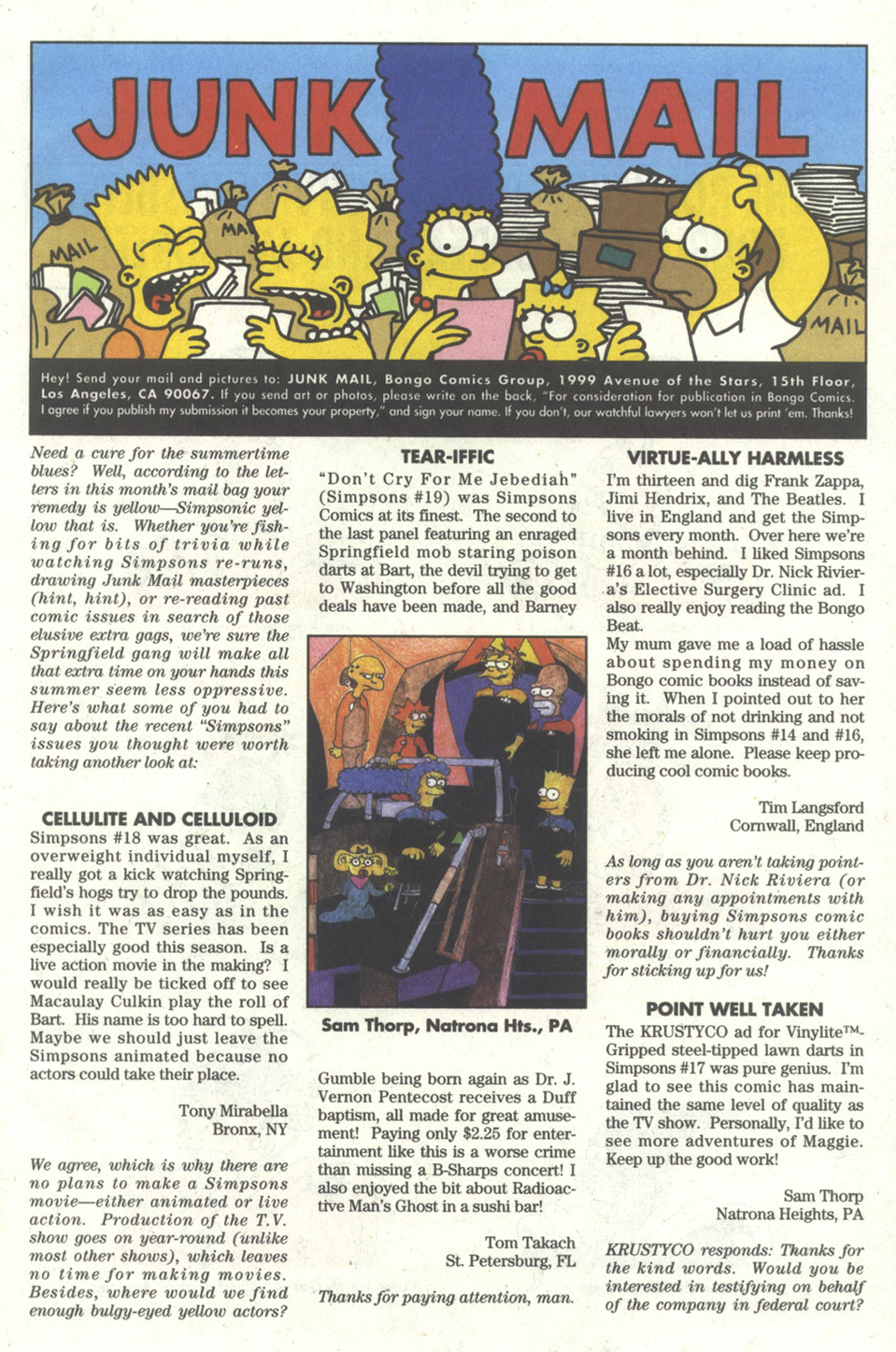 Read online Simpsons Comics comic -  Issue #21 - 23